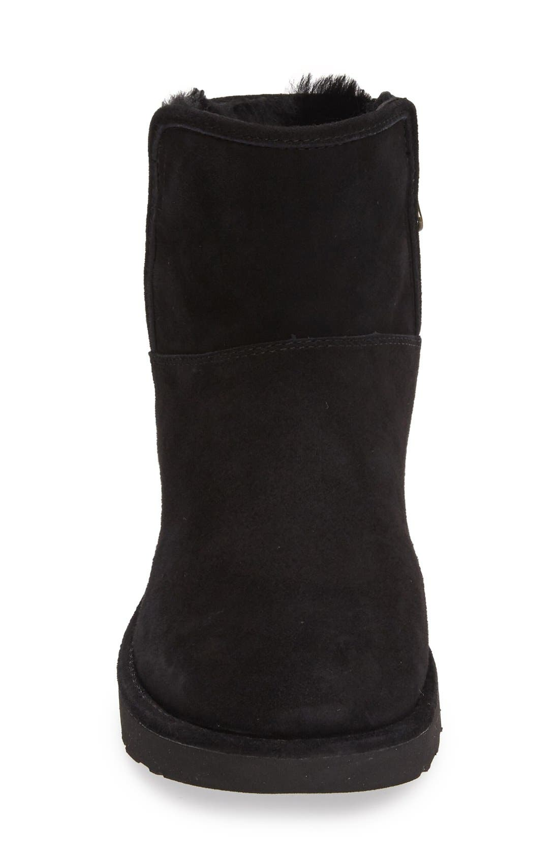Abree II Mini Boot,                             Alternate thumbnail 7, color,                             NERO SUEDE