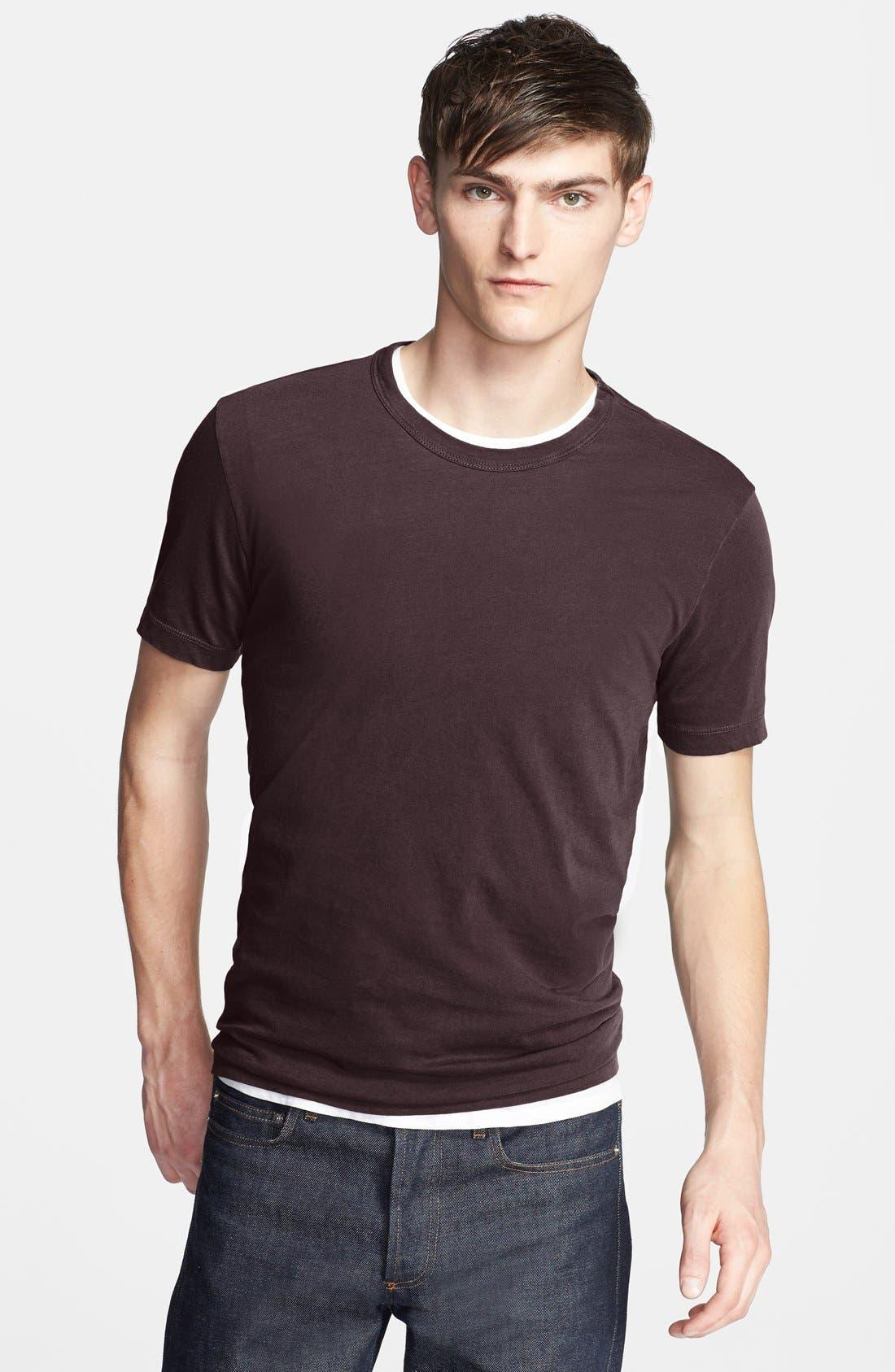 Crewneck Jersey T-Shirt,                             Main thumbnail 94, color,