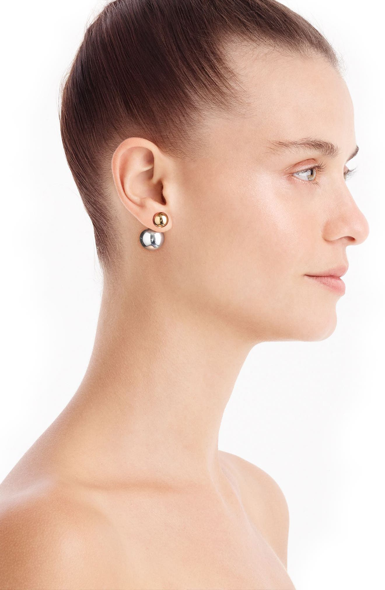 Circle Chandelier Earrings,                             Alternate thumbnail 3, color,                             710