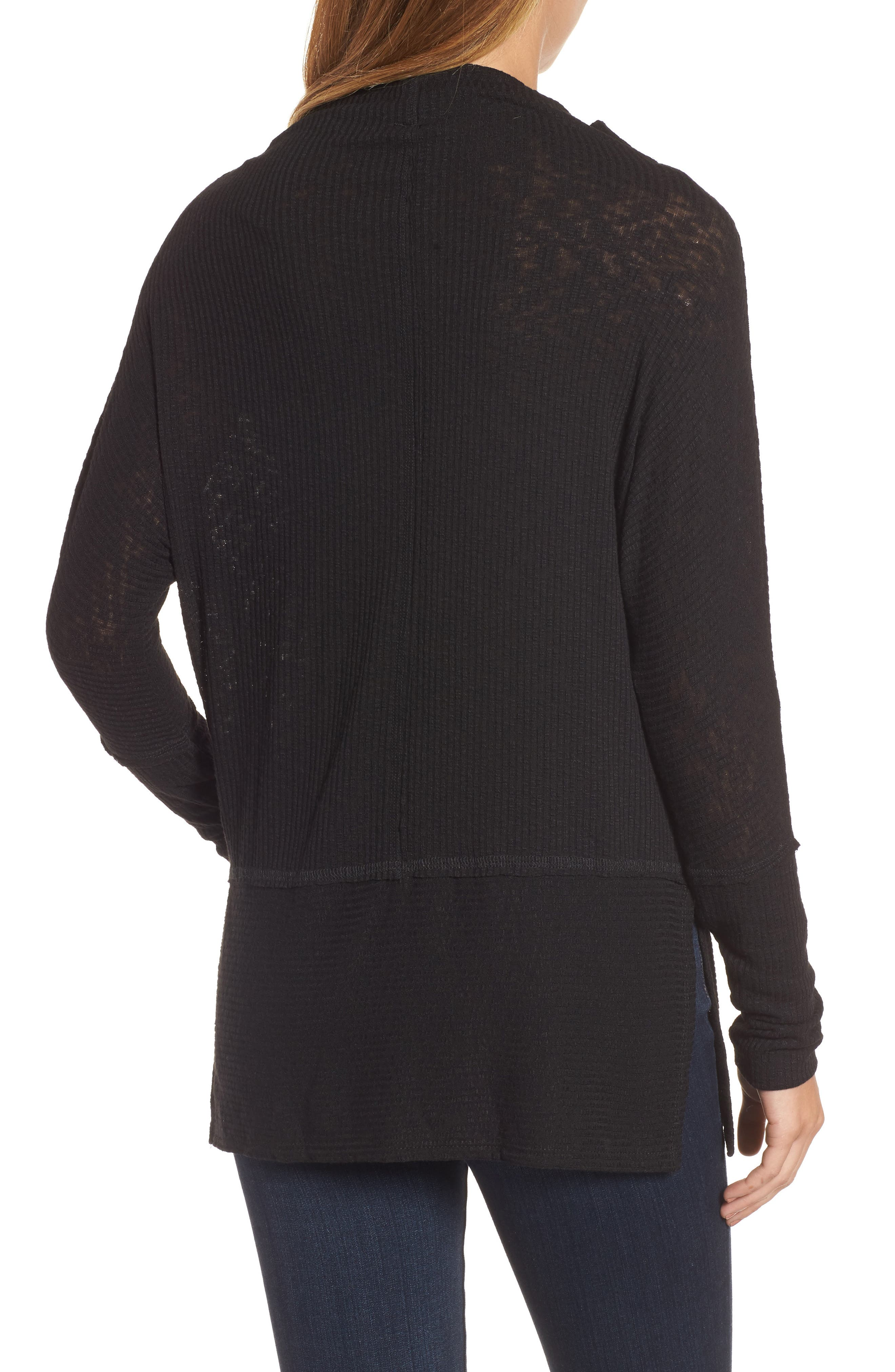 Convertible Wide Neck Top,                             Alternate thumbnail 6, color,