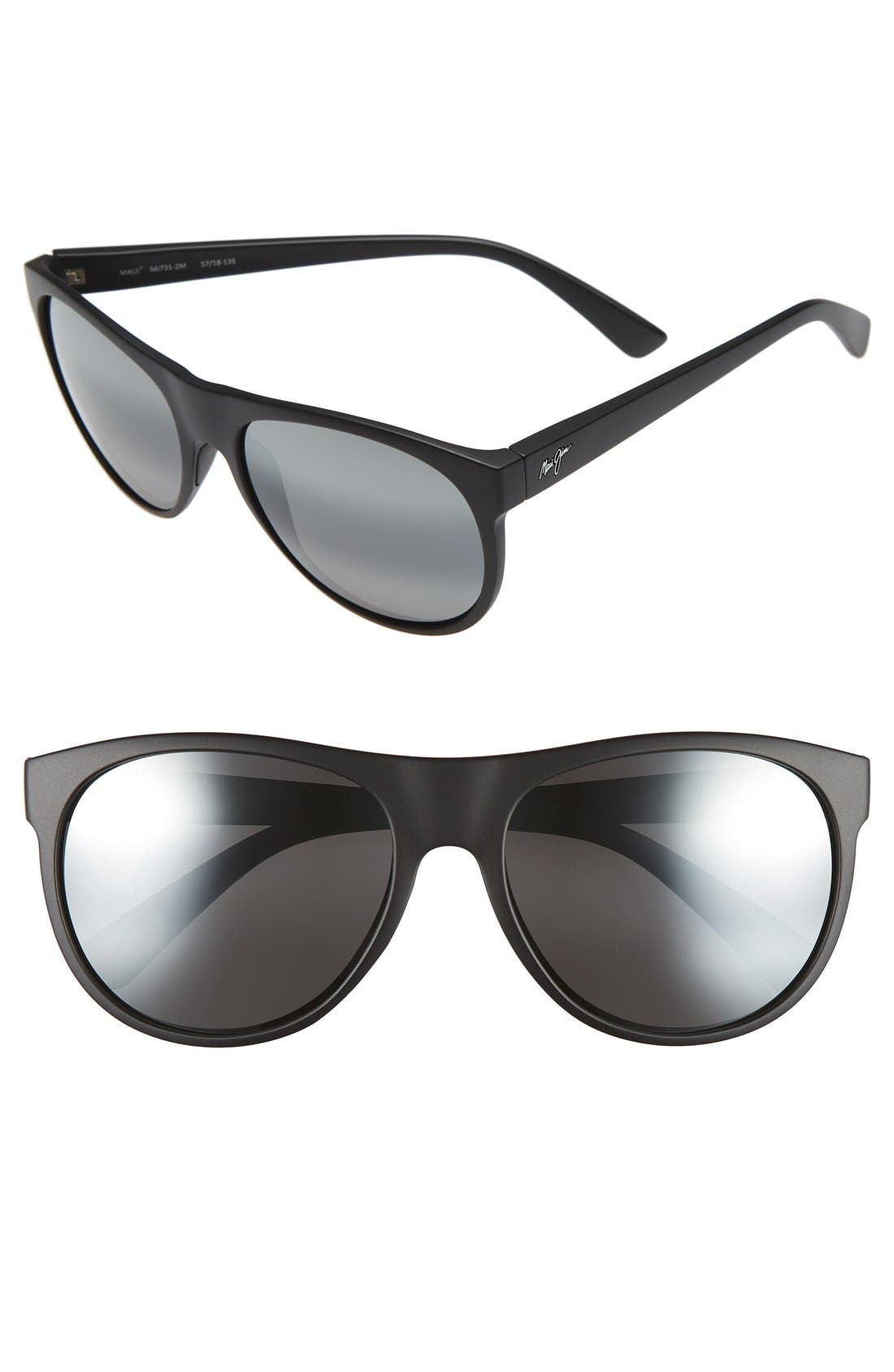 Rising Sun 57mm PolarizedPlus2<sup>®</sup> Sunglasses,                             Main thumbnail 1, color,