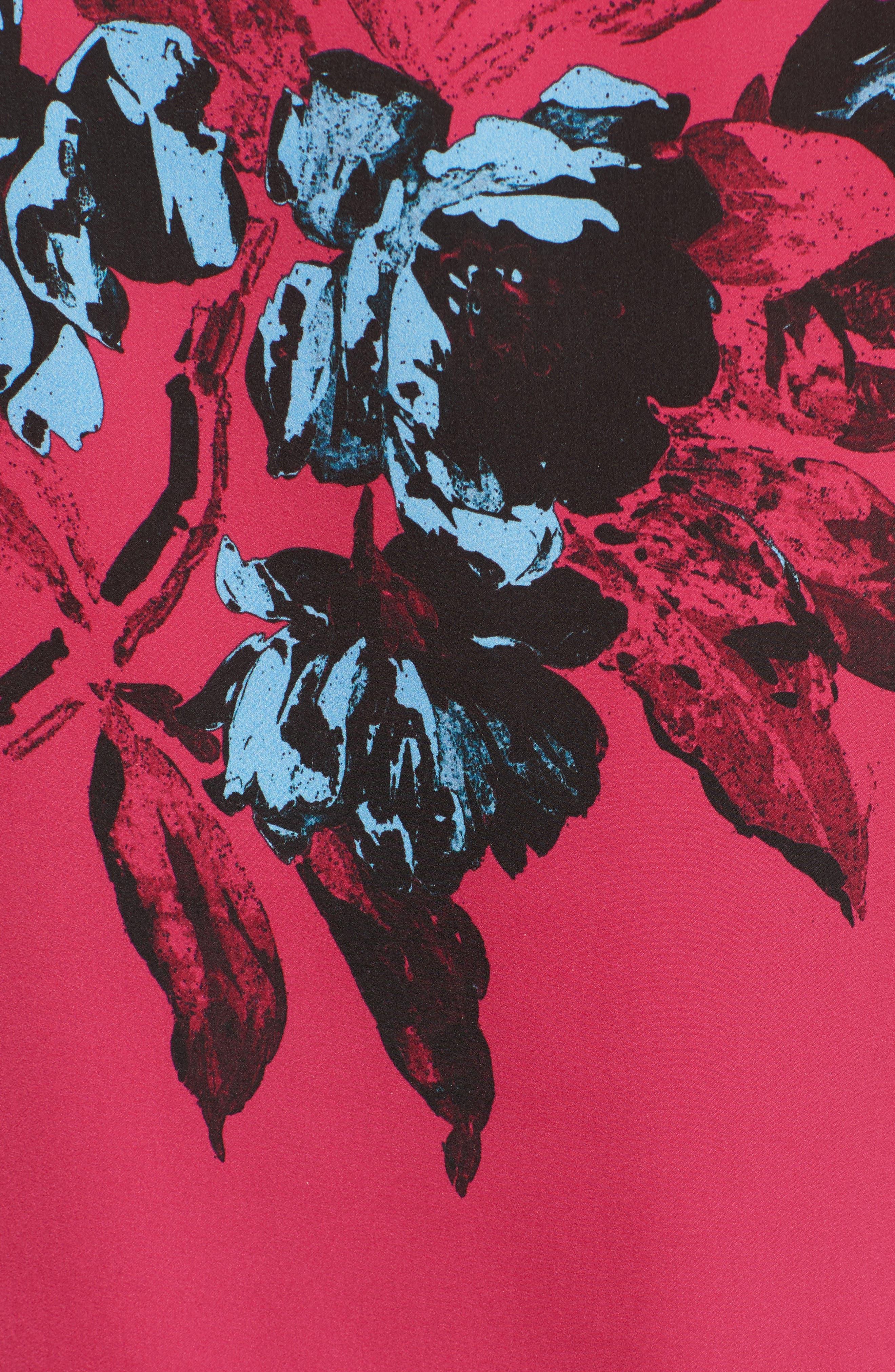 Lace Trim Decon Slip Top,                             Alternate thumbnail 5, color,                             670