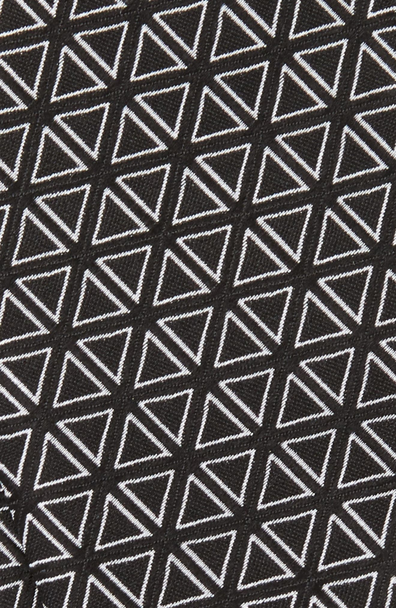 Triad Silk Bow Tie,                             Alternate thumbnail 3, color,                             001