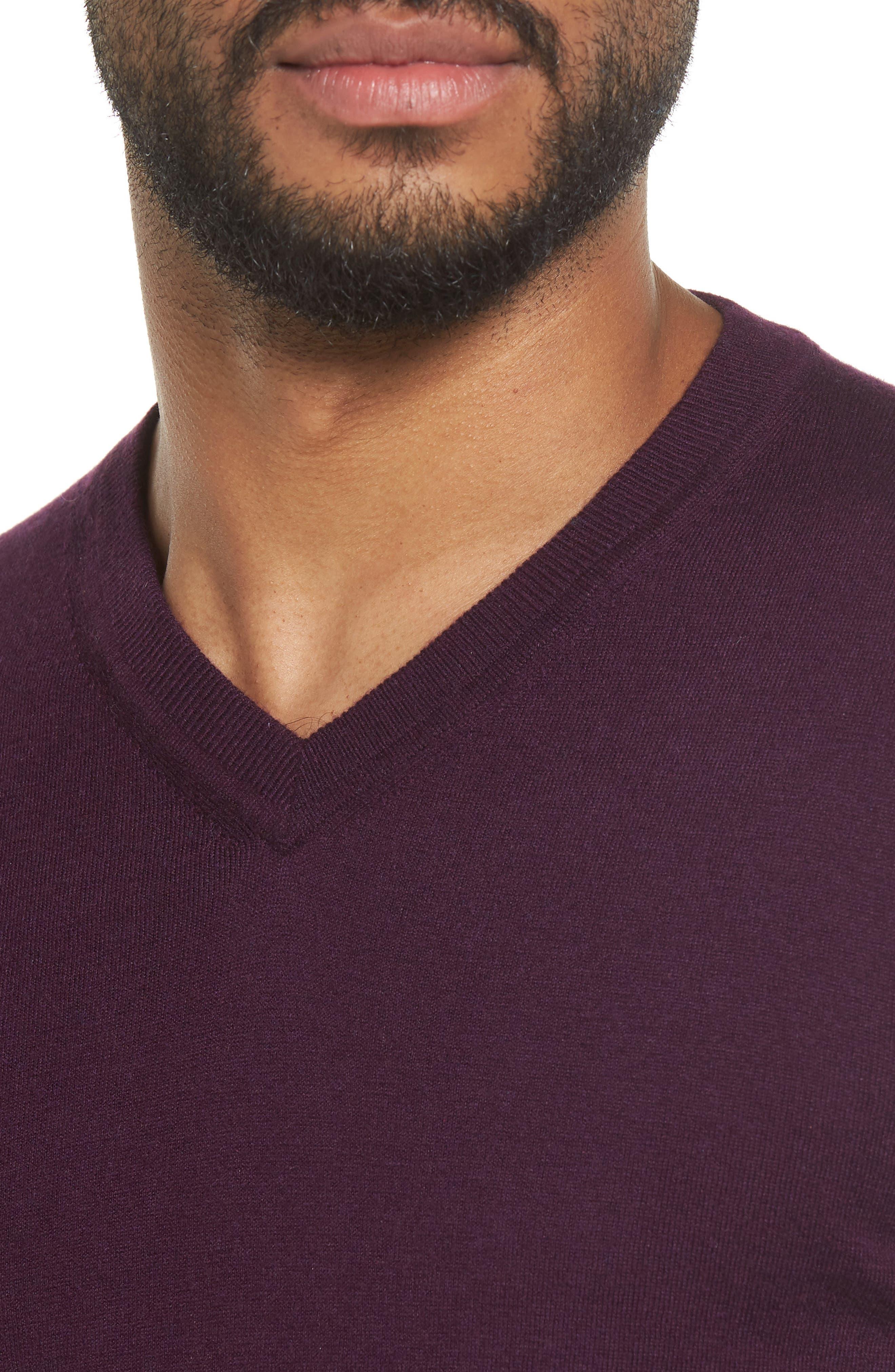 V-Neck Sweater,                             Alternate thumbnail 16, color,
