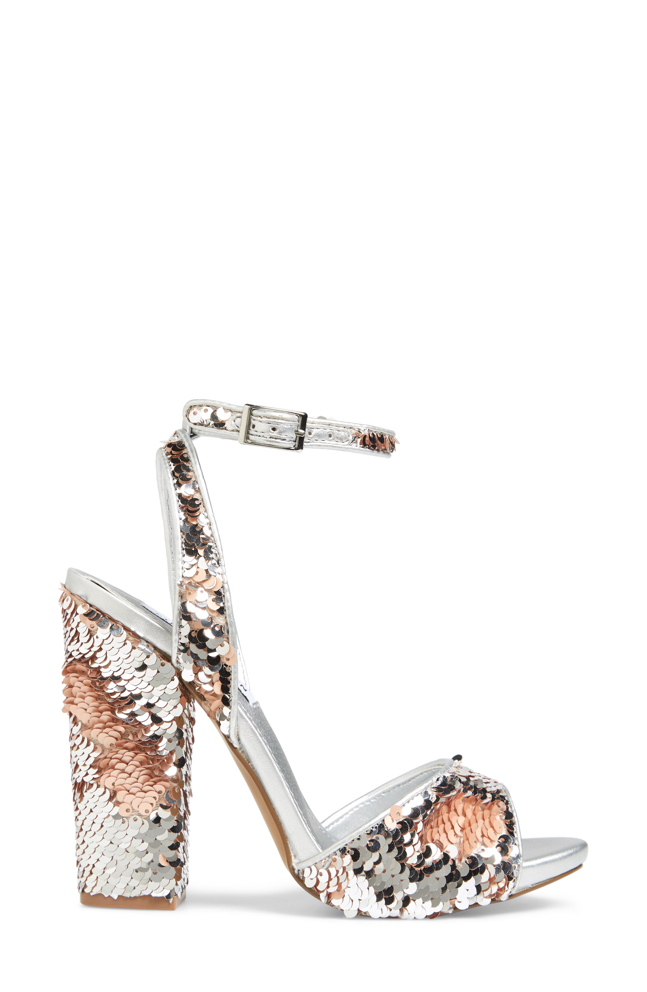 Ritzy Flip Sequin Sandal,                             Alternate thumbnail 3, color,                             040