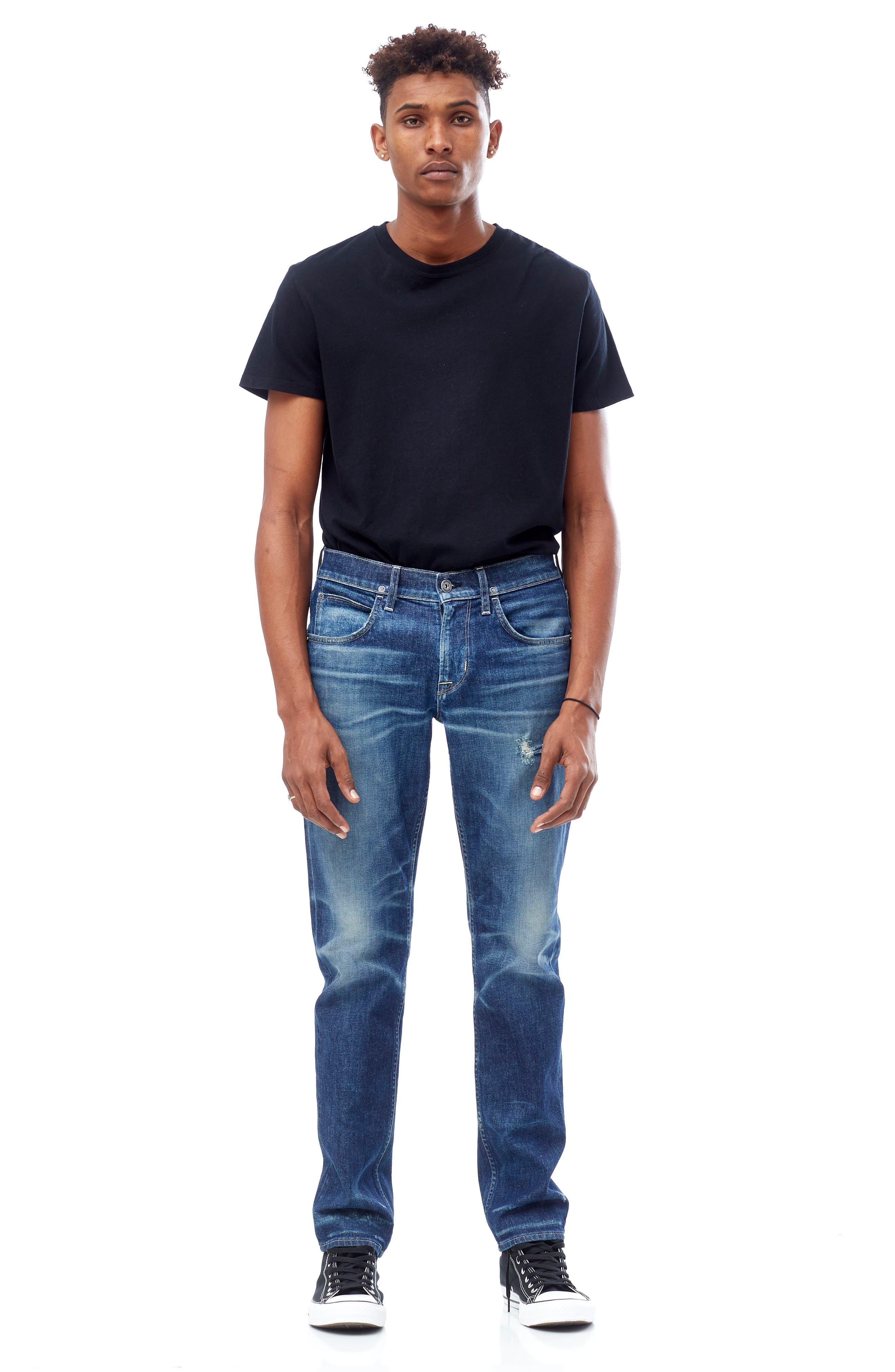 Blake Slim Fit Jeans,                             Alternate thumbnail 7, color,                             425