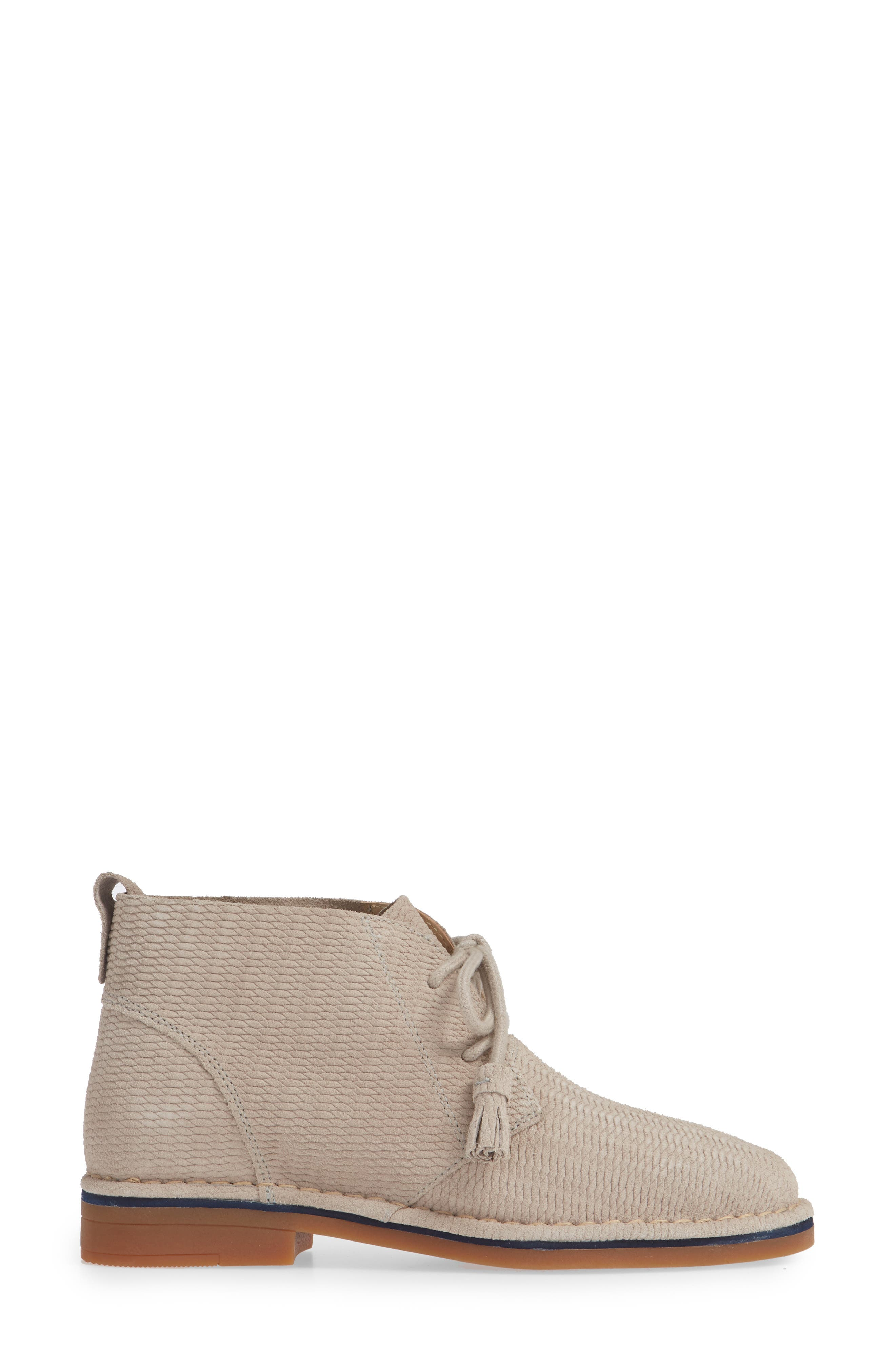 'Cyra Catelyn' Chukka Boot,                             Alternate thumbnail 3, color,                             ICE GREY SUEDE