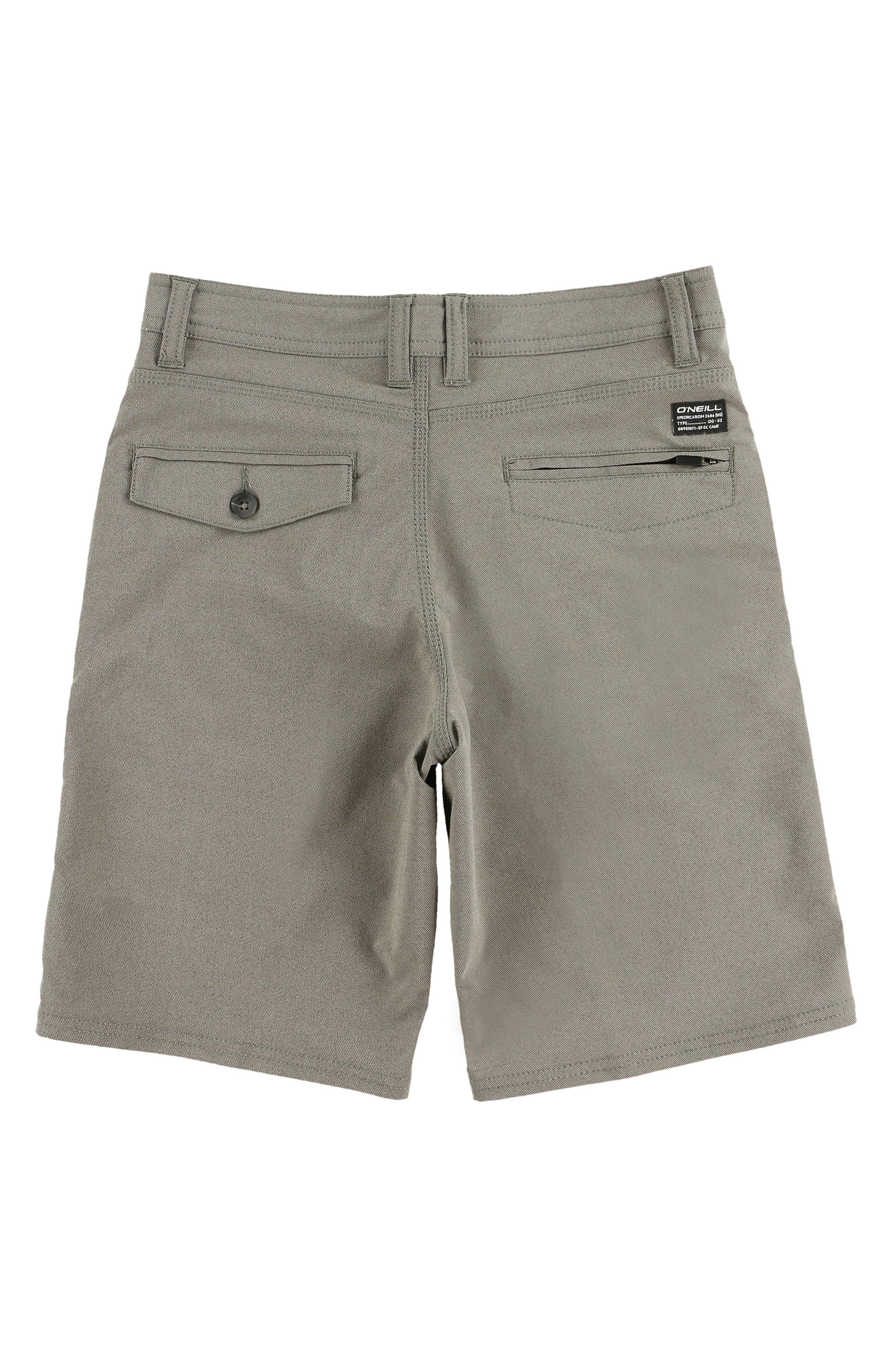 Stockton Hybrid Shorts,                             Alternate thumbnail 2, color,                             COFFEE