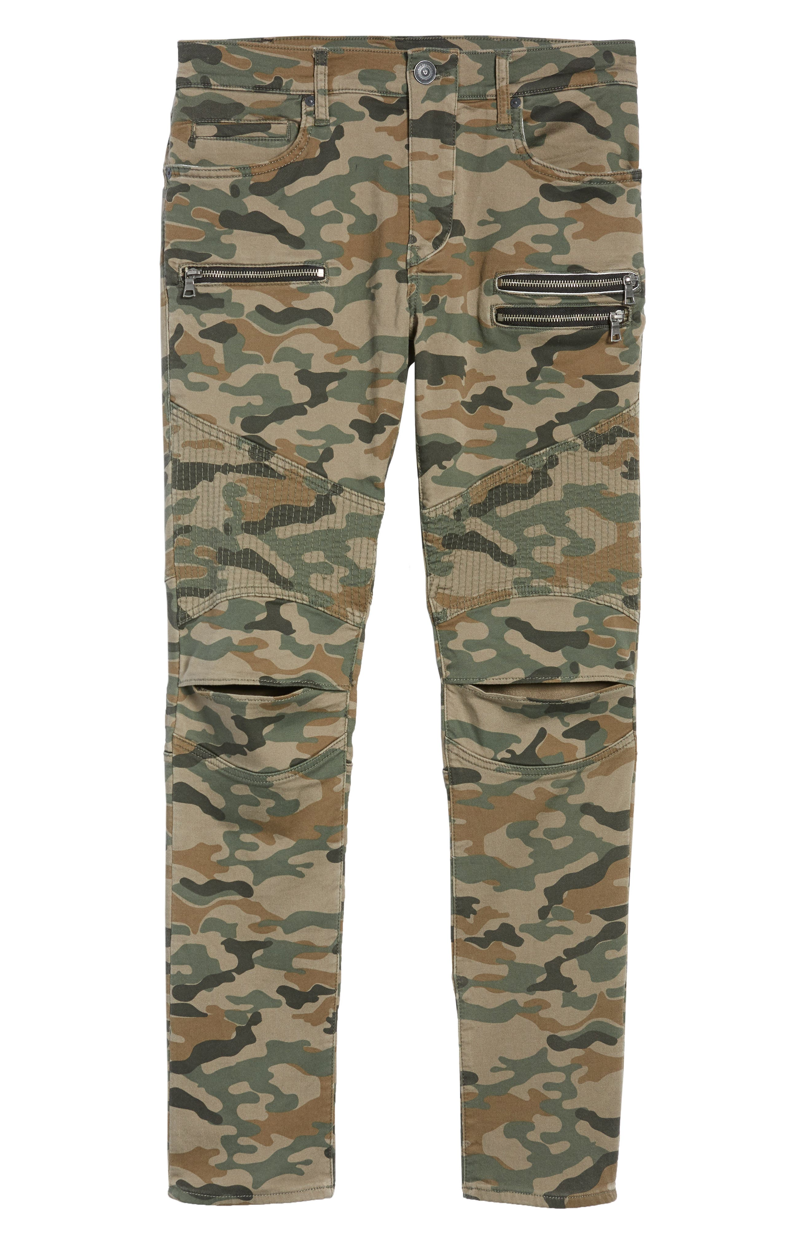 Drift Straight Leg Camo Pants,                             Alternate thumbnail 6, color,                             300