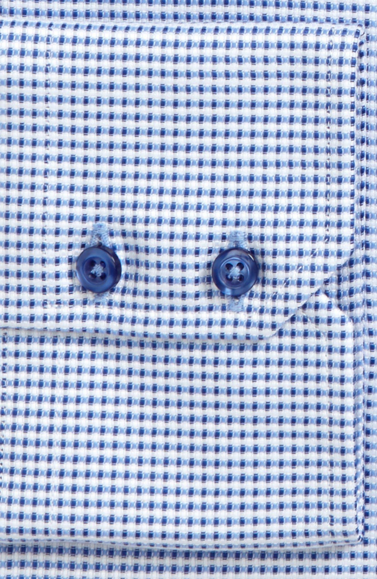 Trim Fit Dobby Dress Shirt,                             Alternate thumbnail 2, color,                             423