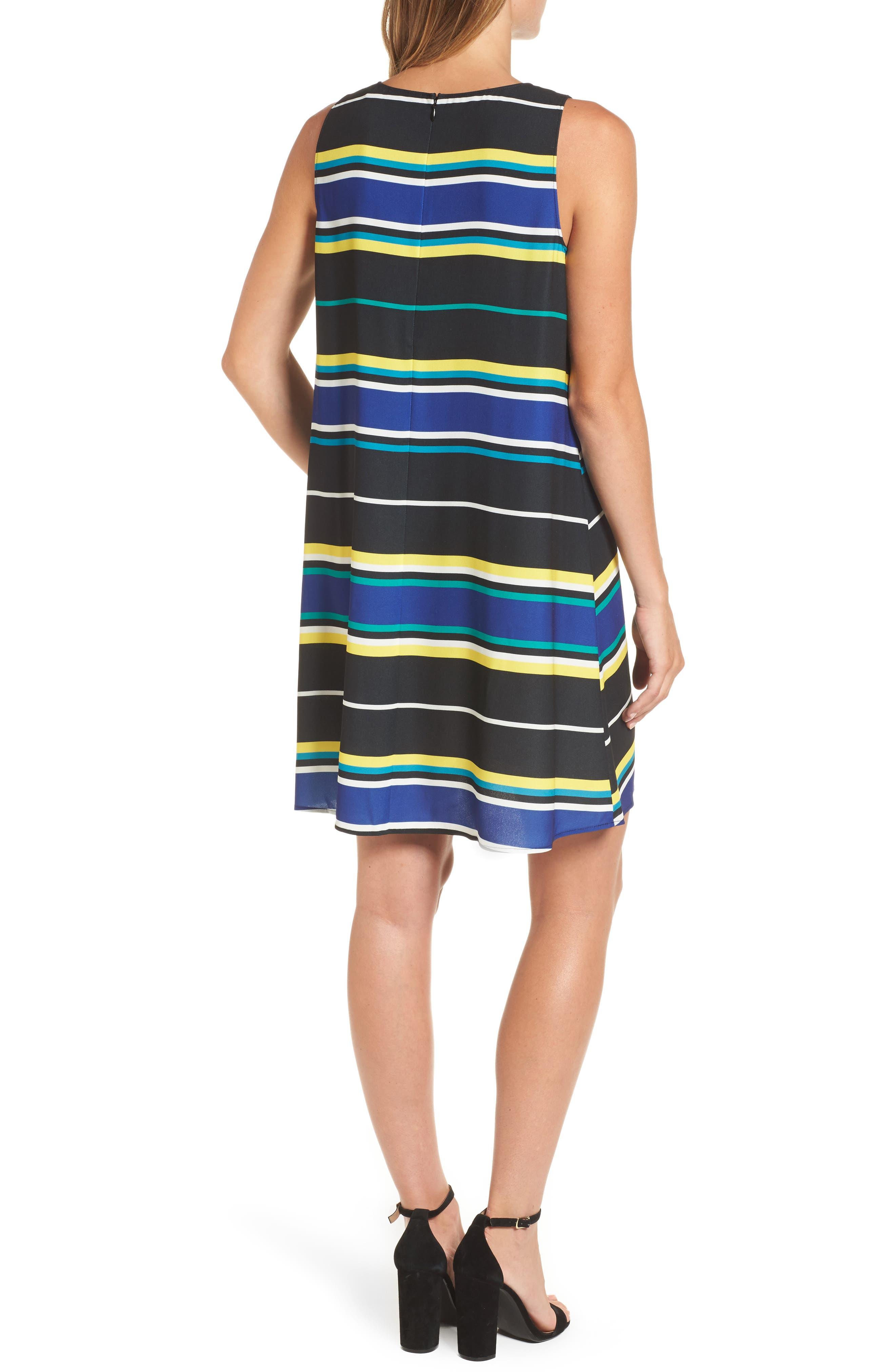 A-Line Dress,                             Alternate thumbnail 2, color,                             005
