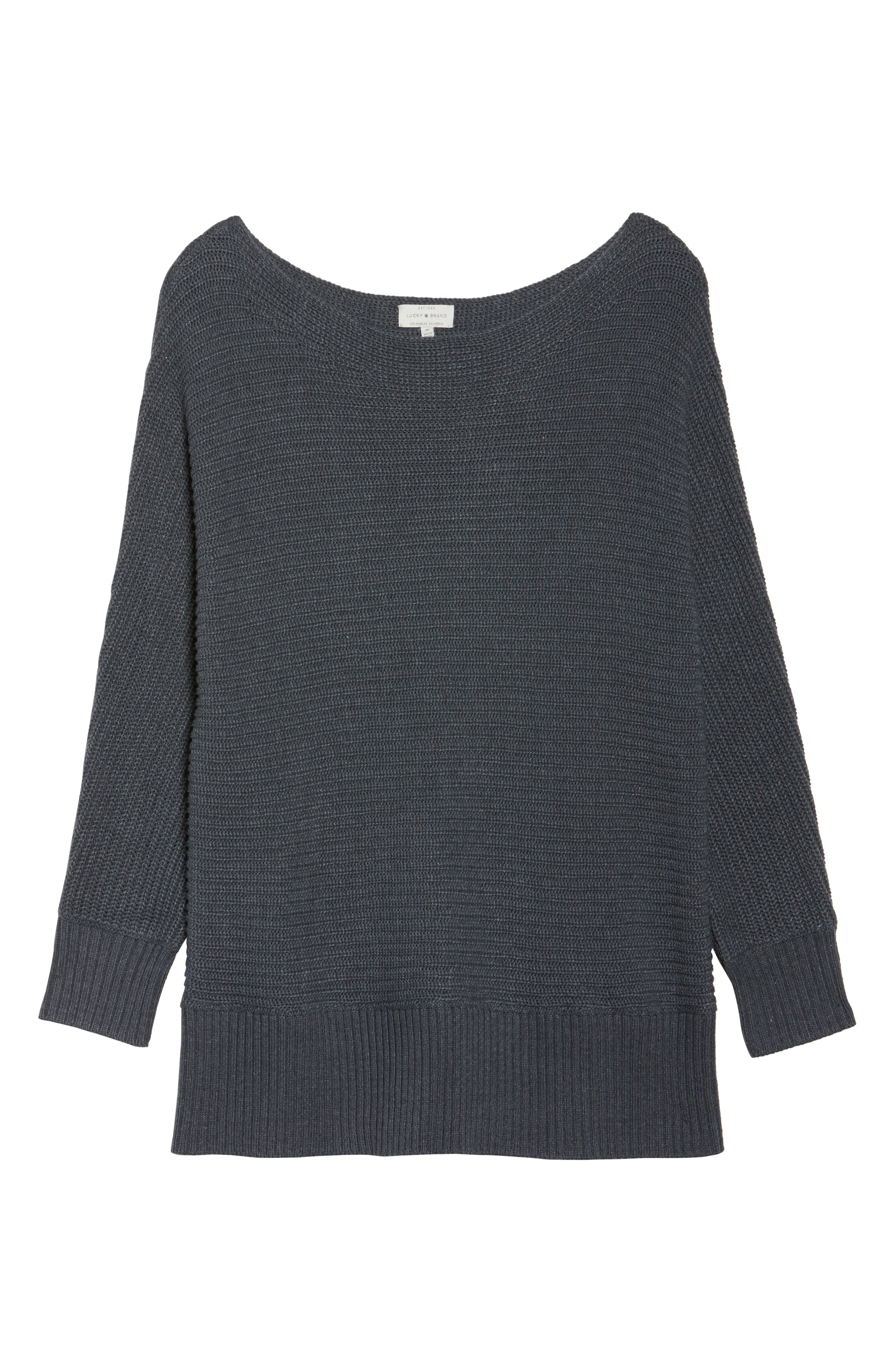 Off the Shoulder Sweater,                             Alternate thumbnail 6, color,                             060