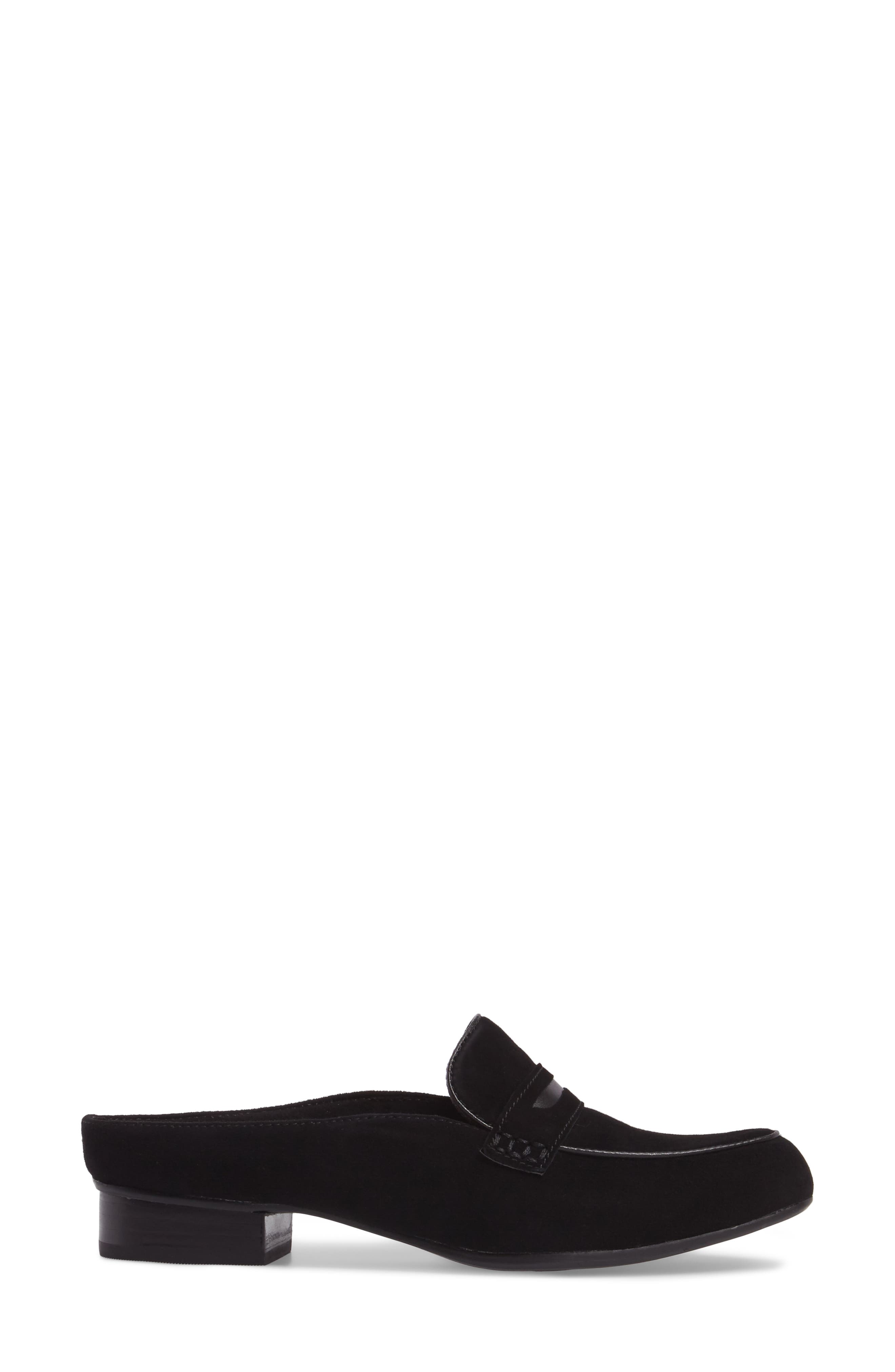 Keesha Donna Loafer Mule,                             Alternate thumbnail 3, color,                             007