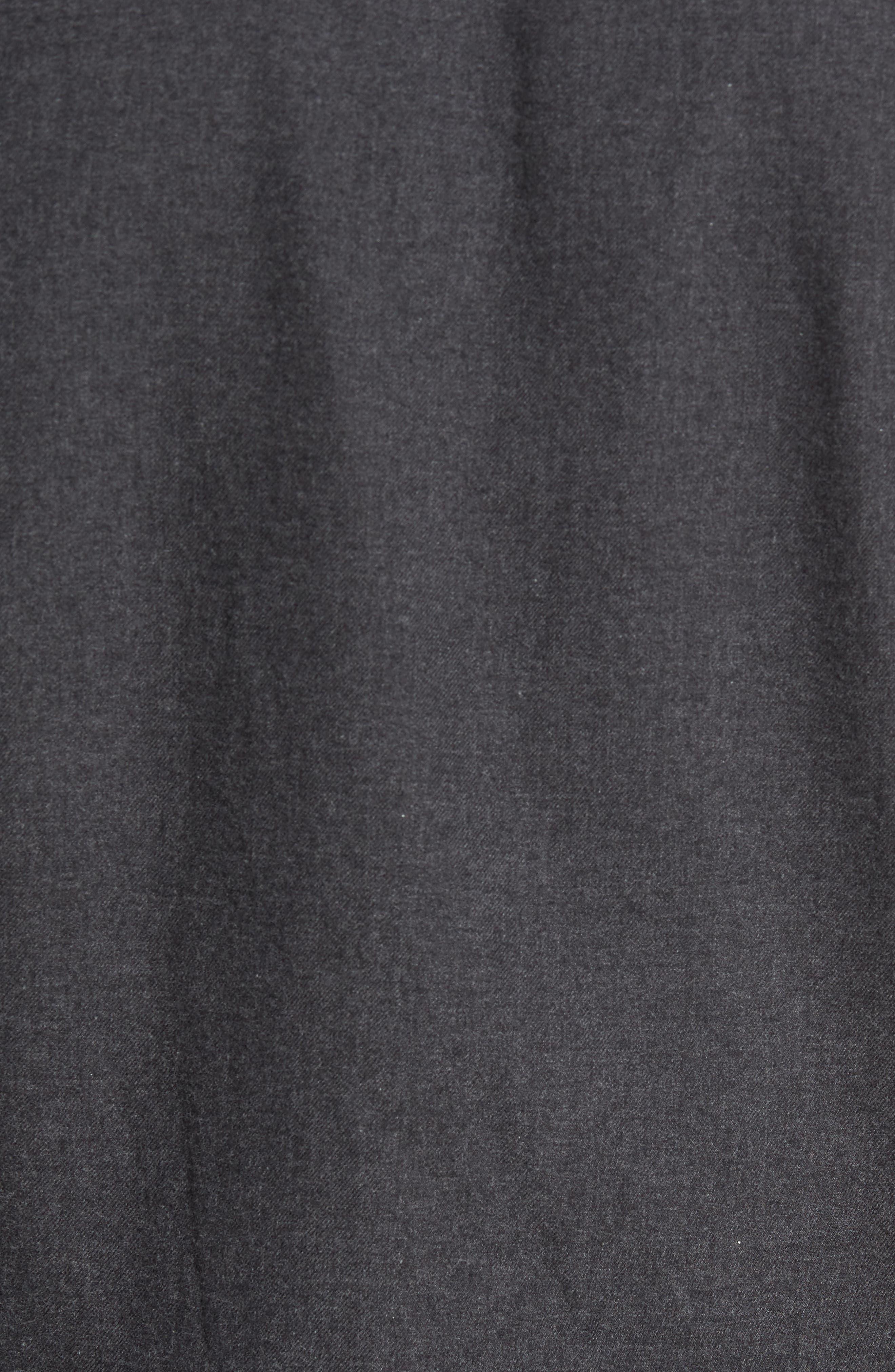 Slim Fit Brushed Twill Sport Shirt,                             Alternate thumbnail 5, color,                             020