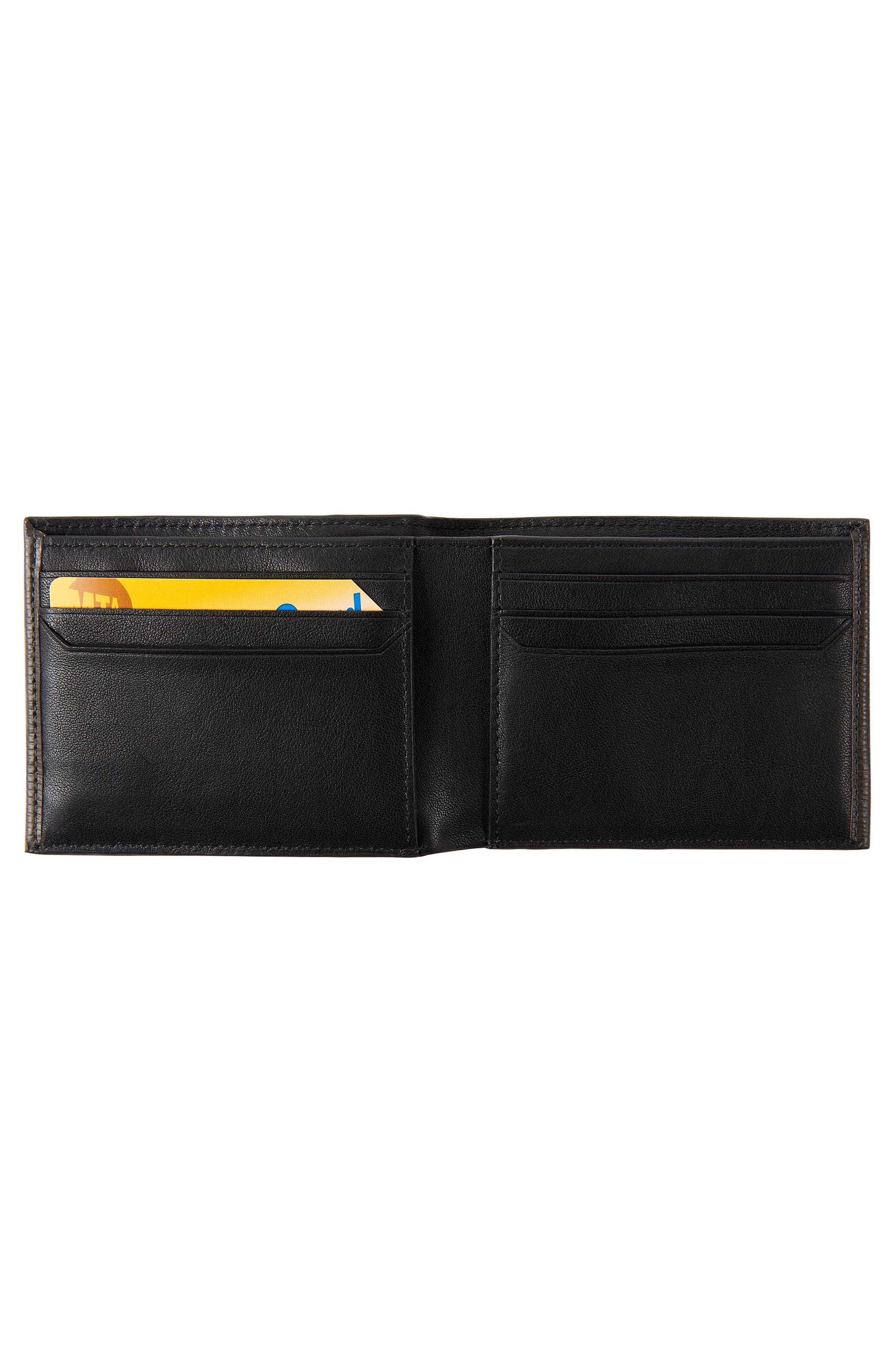Monaco Leather Wallet,                             Alternate thumbnail 2, color,                             TAUPE
