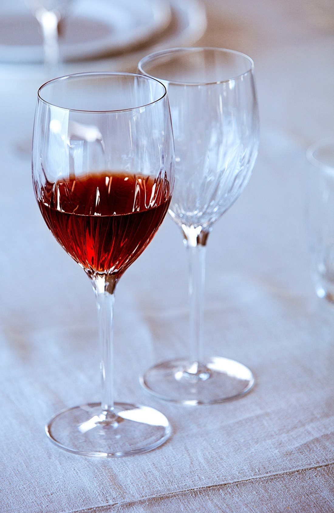 Incanto Set of 4 Red Wine Glasses,                             Alternate thumbnail 2, color,                             CLEAR