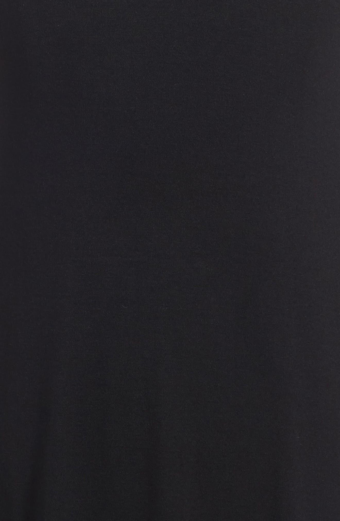 Phyllis Stripe Mock Neck Dress,                             Alternate thumbnail 7, color,