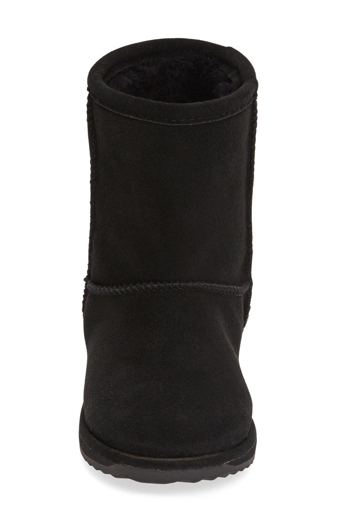 Brumby Waterproof Boot,                             Alternate thumbnail 7, color,                             BLACK SUEDE