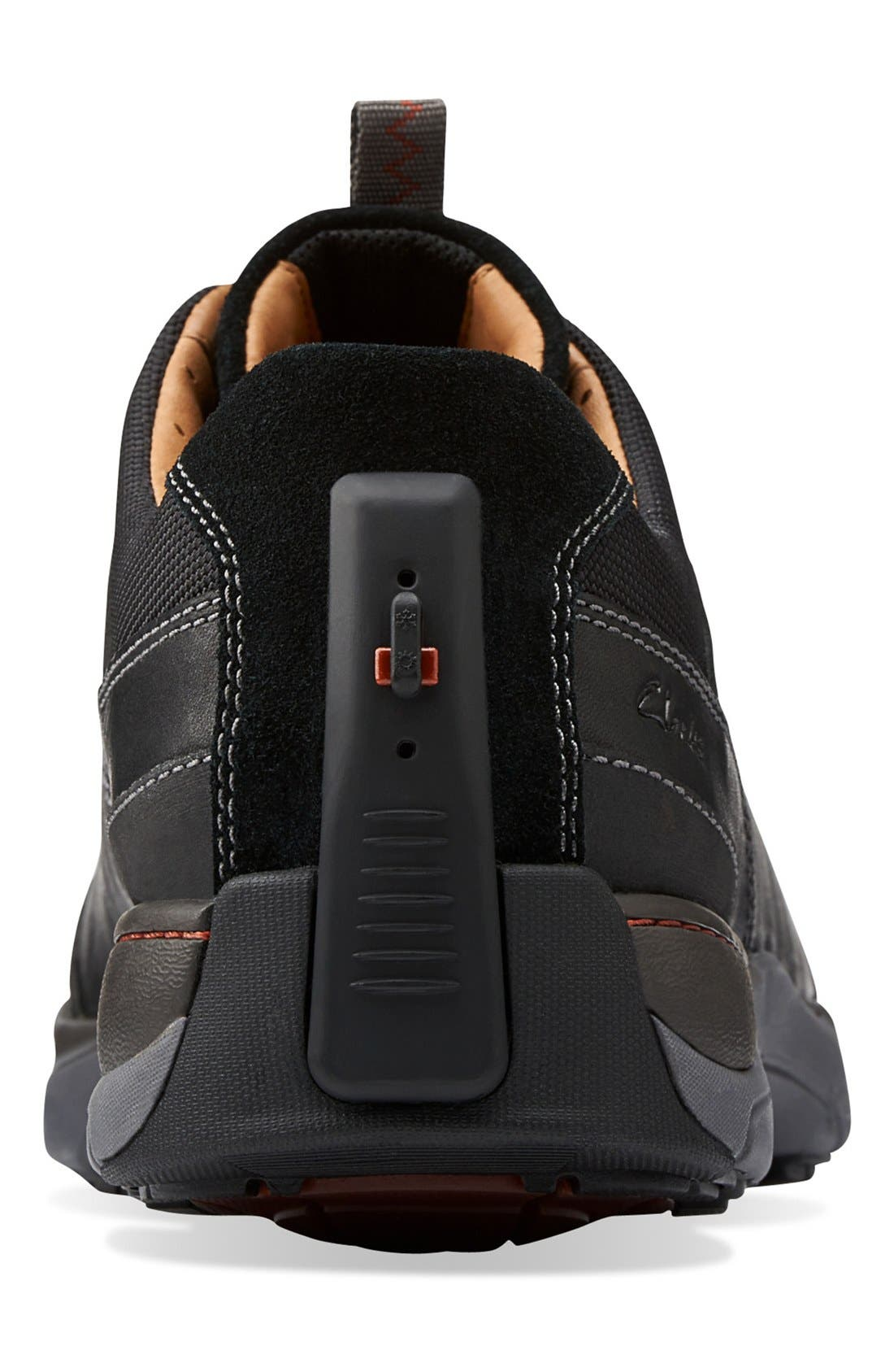 Clarks<sup>®</sup> 'Skyward Vibe' Sneaker,                             Alternate thumbnail 4, color,                             003