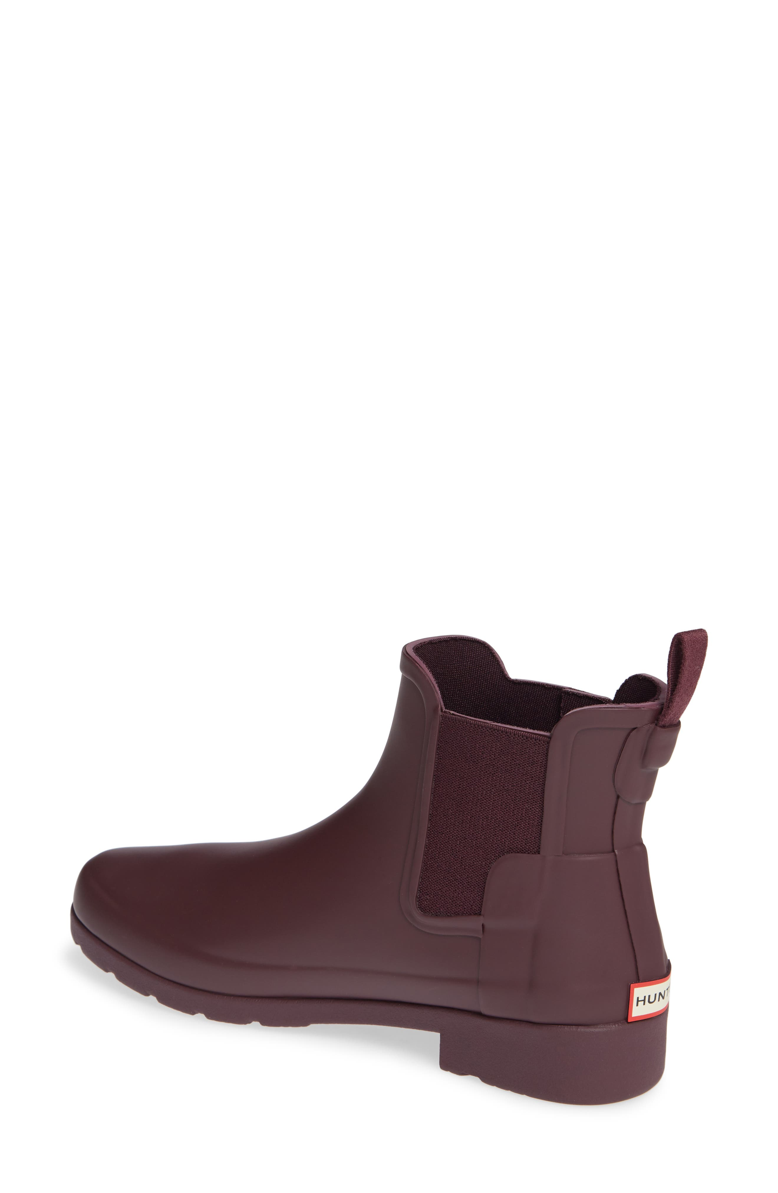 Refined Chelsea Boot,                             Alternate thumbnail 2, color,                             OXBLOOD