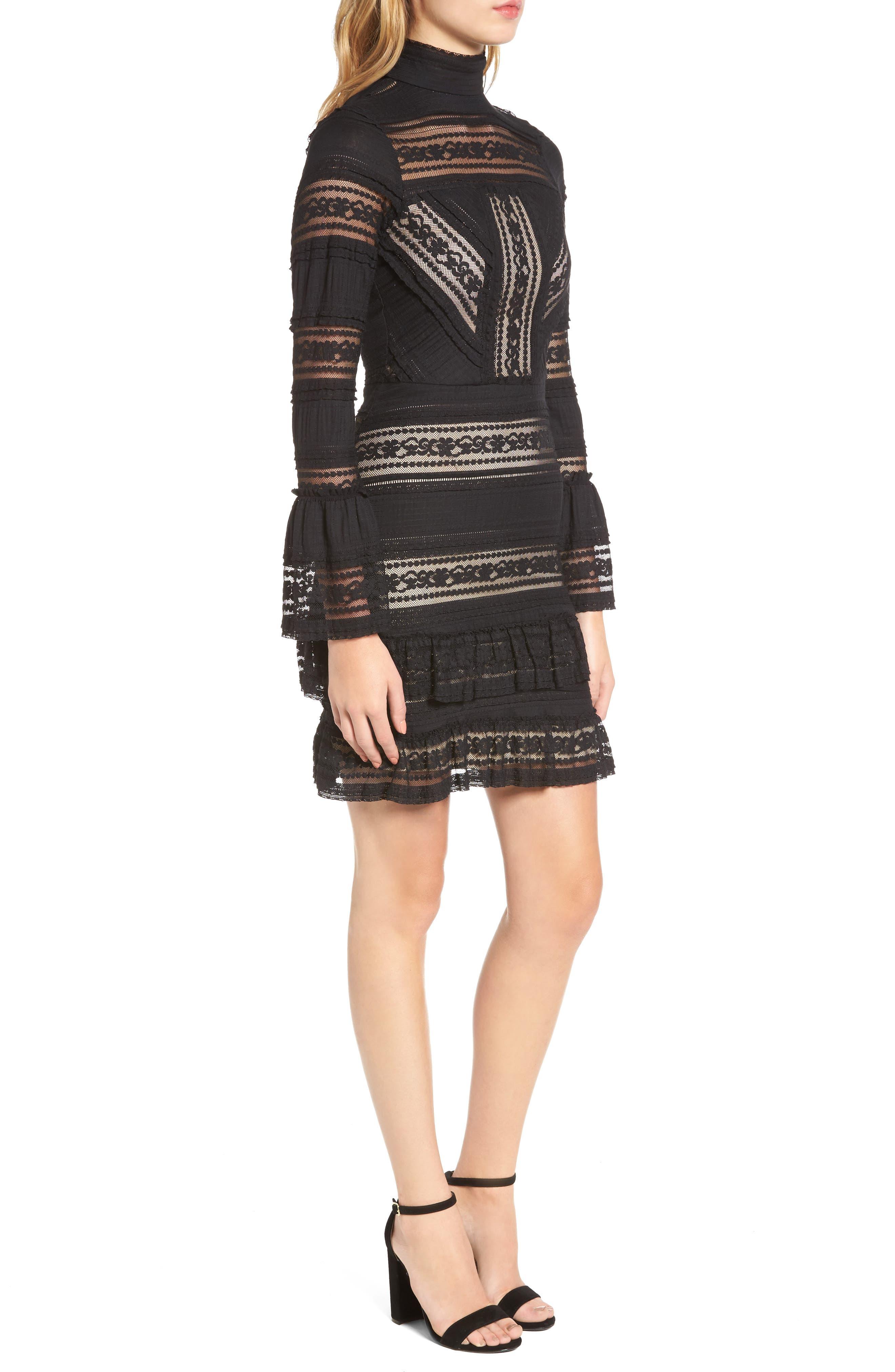Topanga Lace Sheath Dress,                             Alternate thumbnail 3, color,