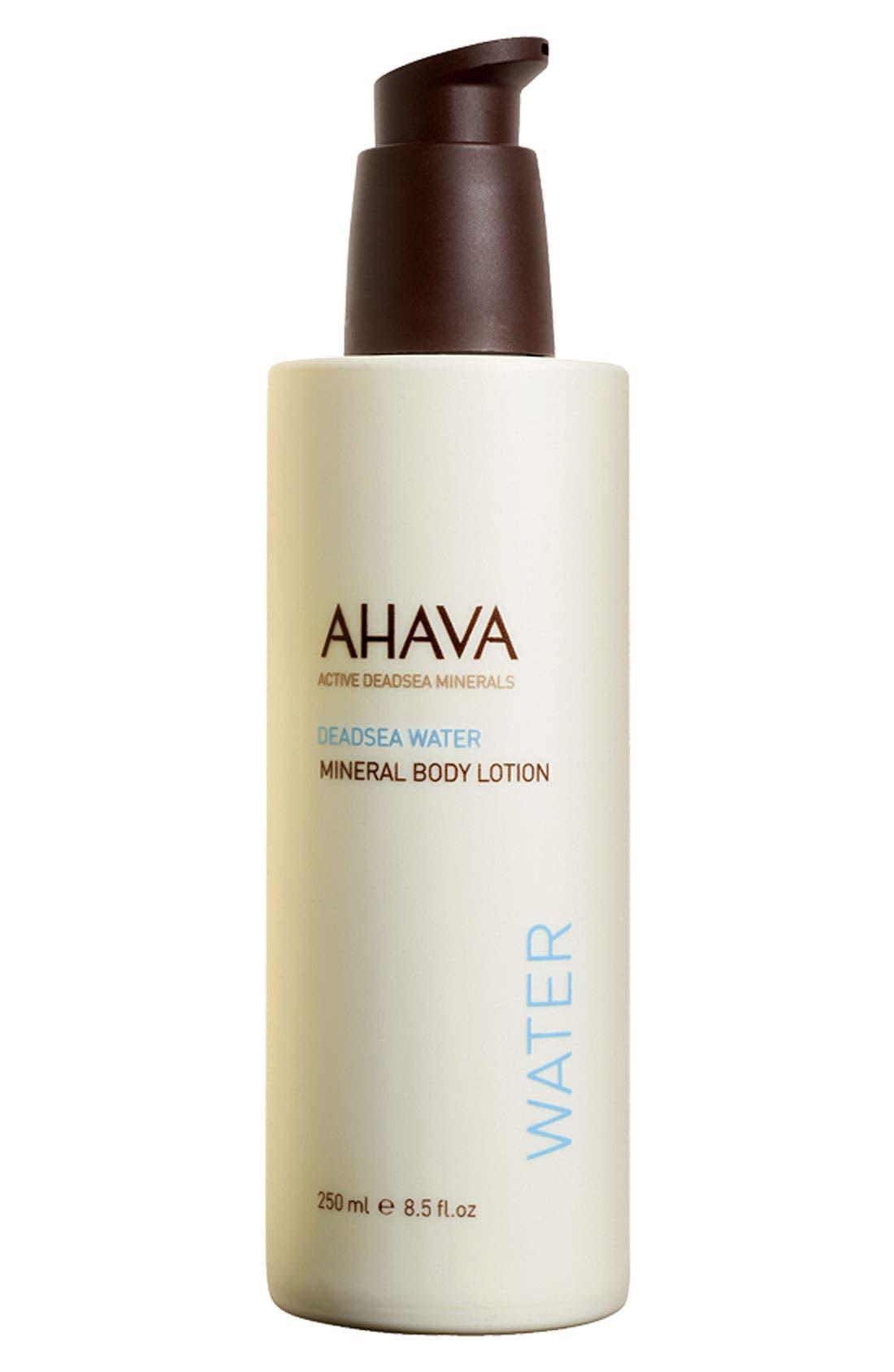 AHAVA,                             Mineral Body Lotion,                             Main thumbnail 1, color,                             100