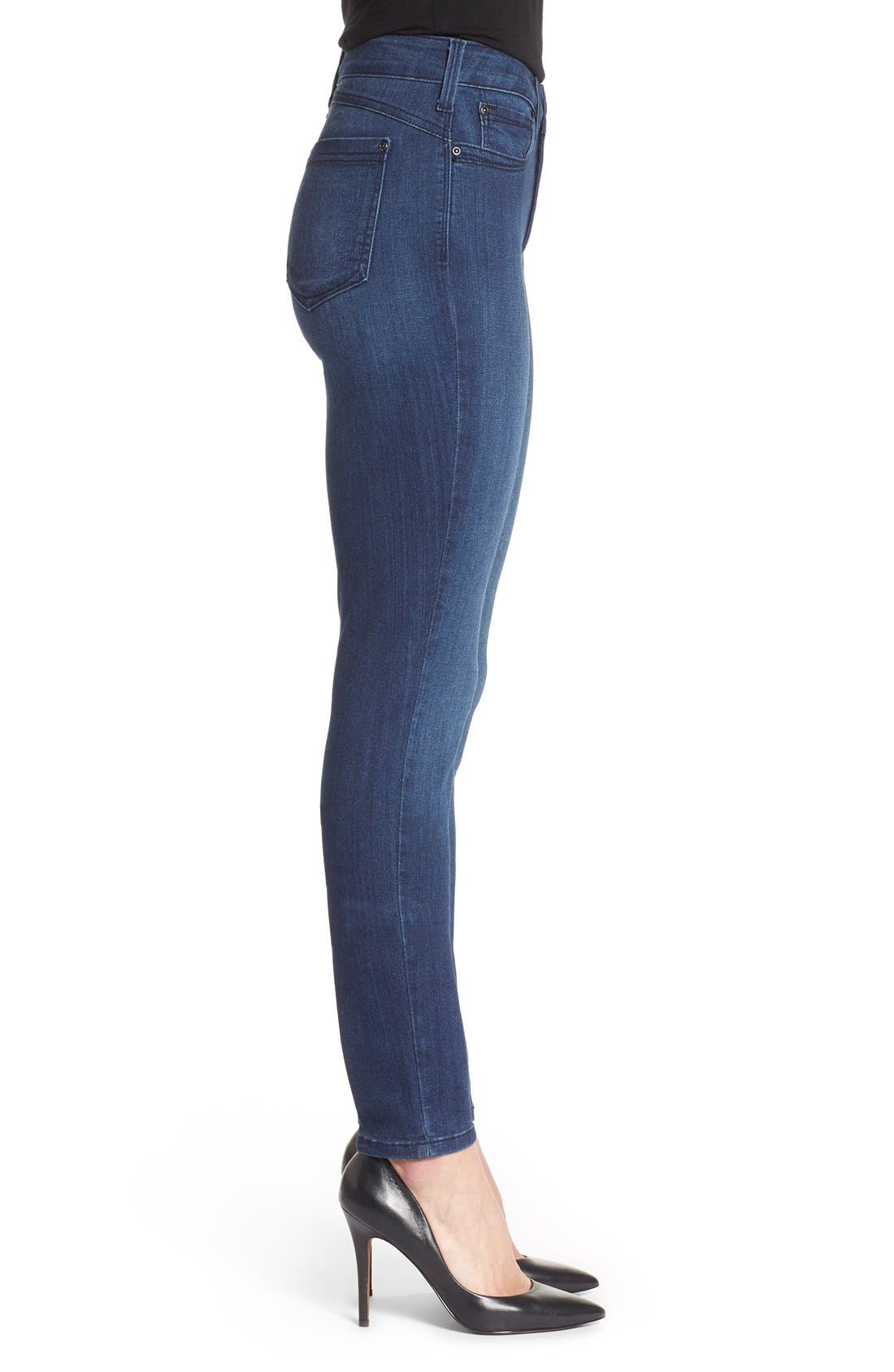 'Ami' Stretch Skinny Jeans,                             Alternate thumbnail 16, color,