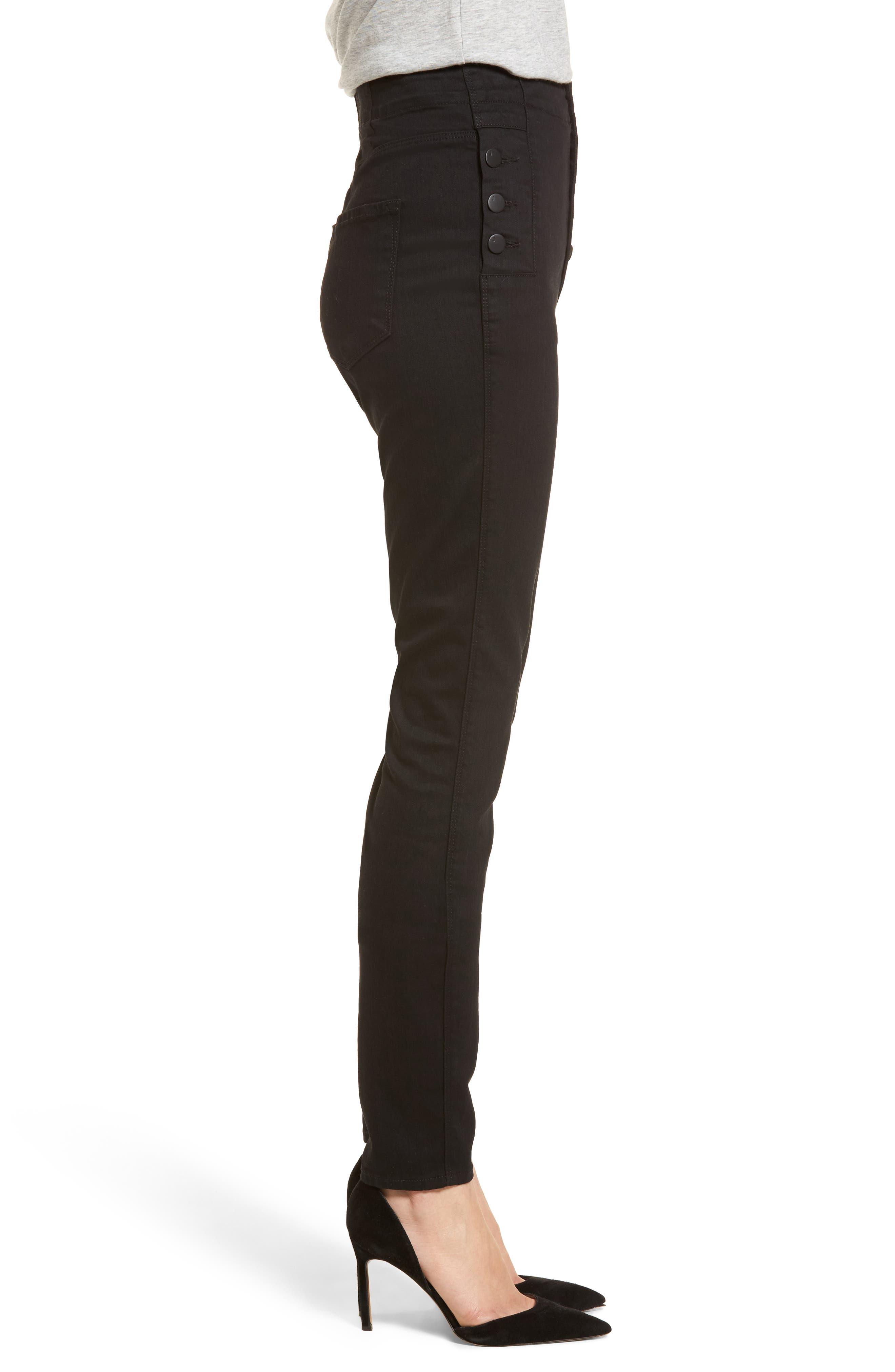 Natasha Photoready High Waist Skinny Jeans,                             Alternate thumbnail 3, color,                             VANITY