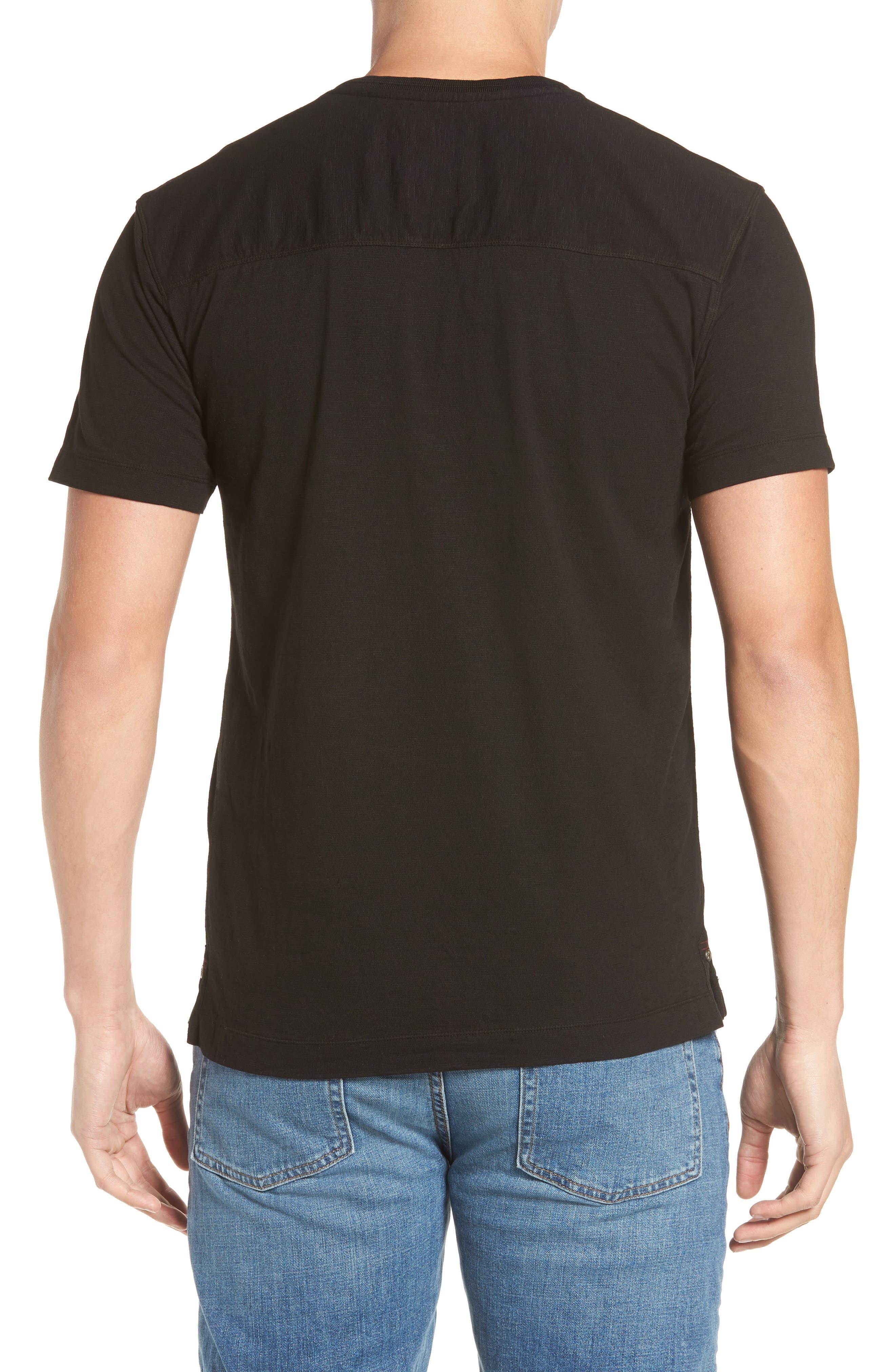 Virgil Stretch Jersey T-Shirt,                             Alternate thumbnail 2, color,                             001