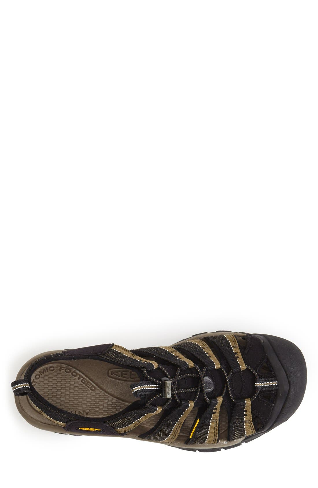 'Newport H2' Sandal,                             Alternate thumbnail 2, color,                             BLACK/ STONE GREY