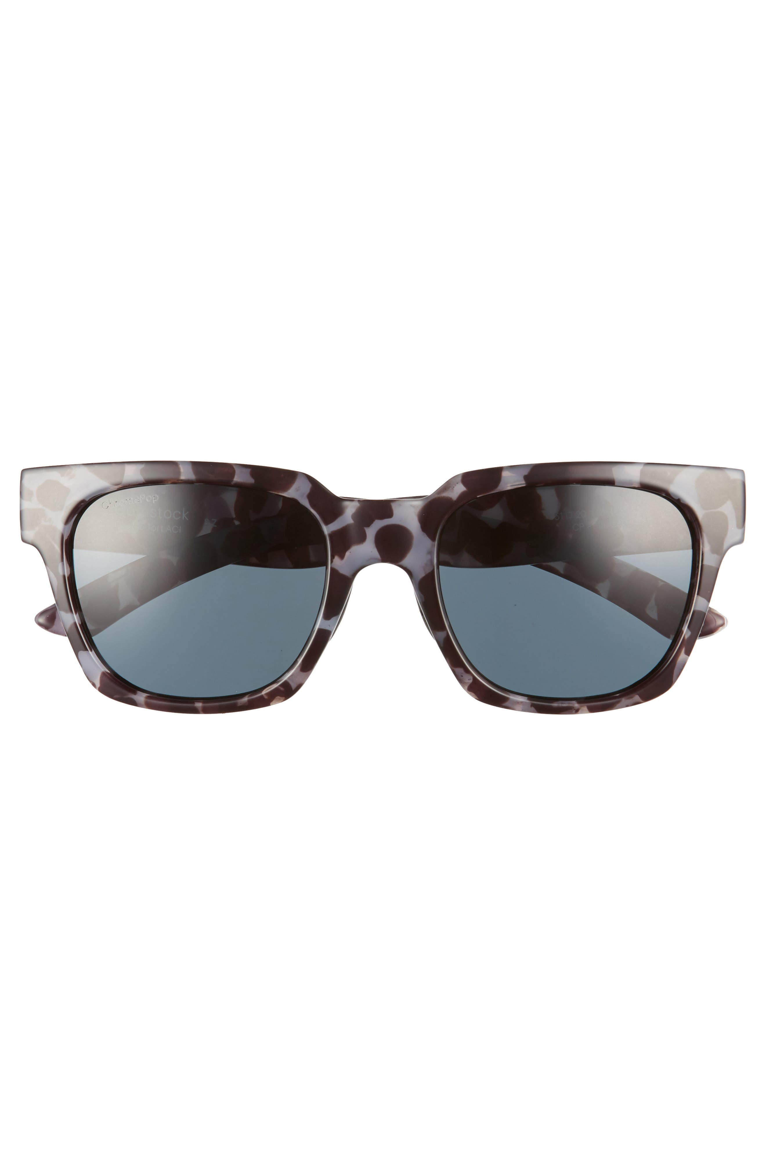 'Comstock' 52mm Rectangular Sunglasses,                             Alternate thumbnail 3, color,                             CHOCOLATE TORTOISE