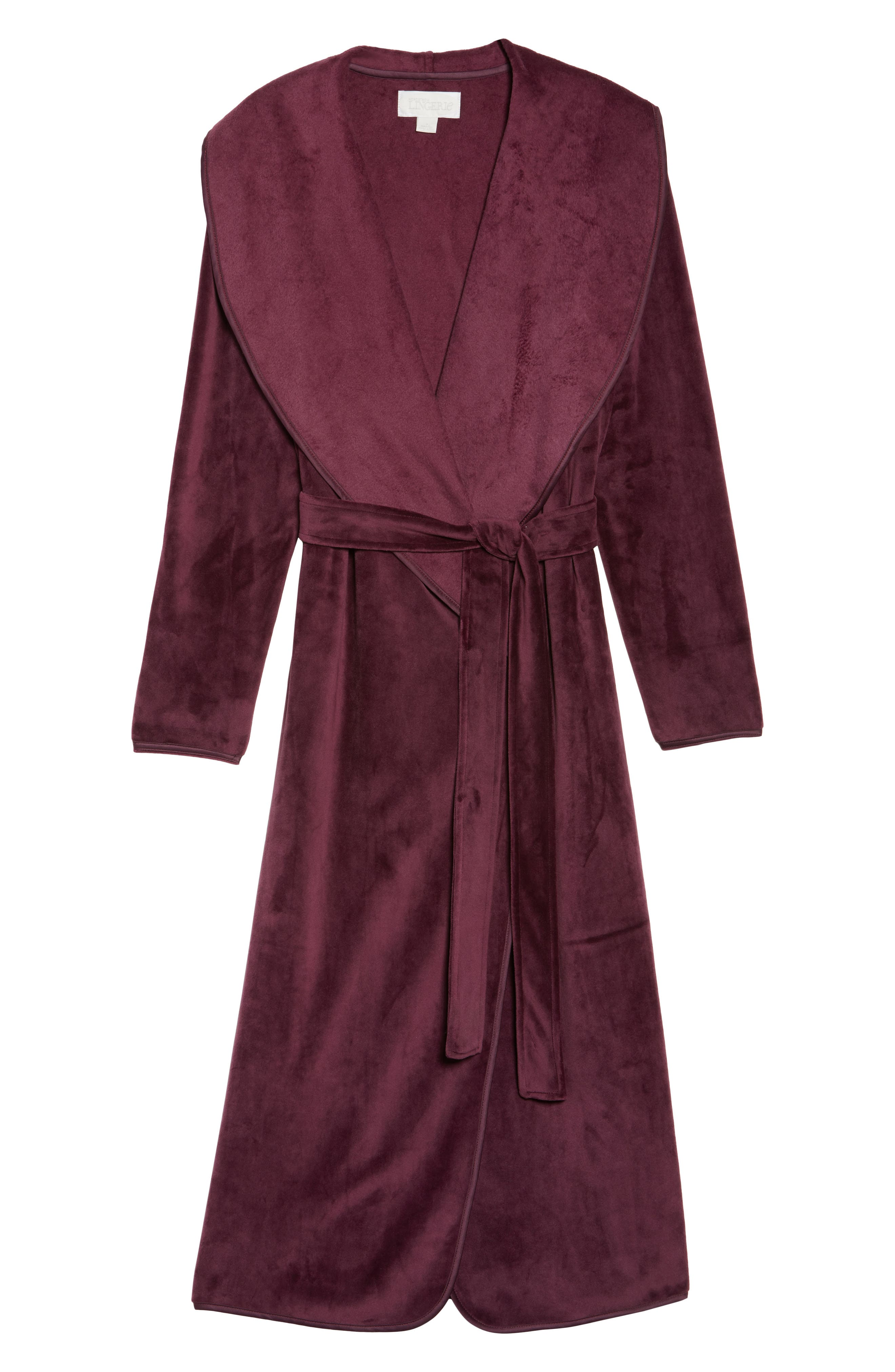 Luxe Shawl Robe,                             Alternate thumbnail 18, color,