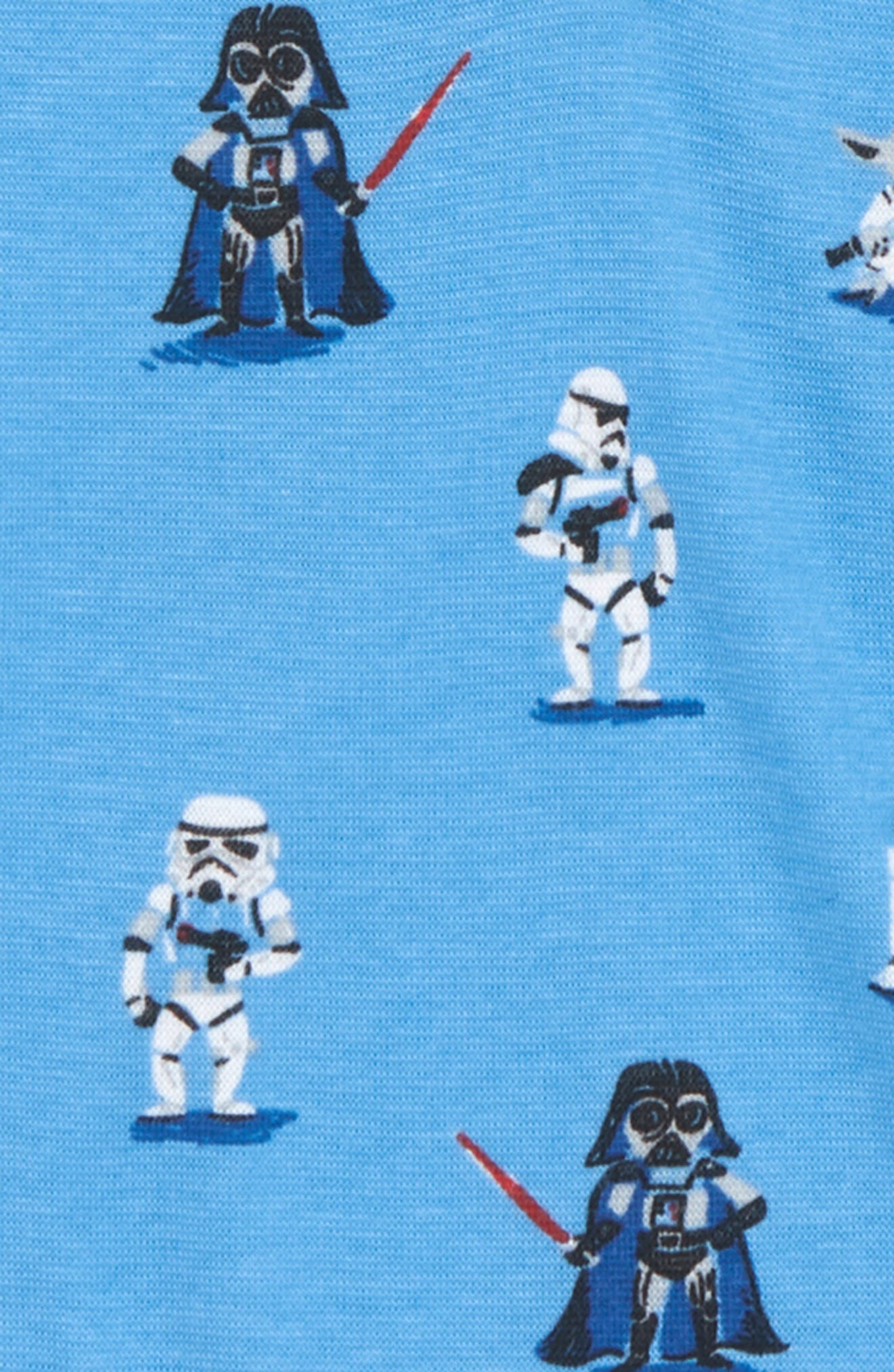 x Star Wars Fitted Two-Piece Pajamas,                             Alternate thumbnail 2, color,                             400