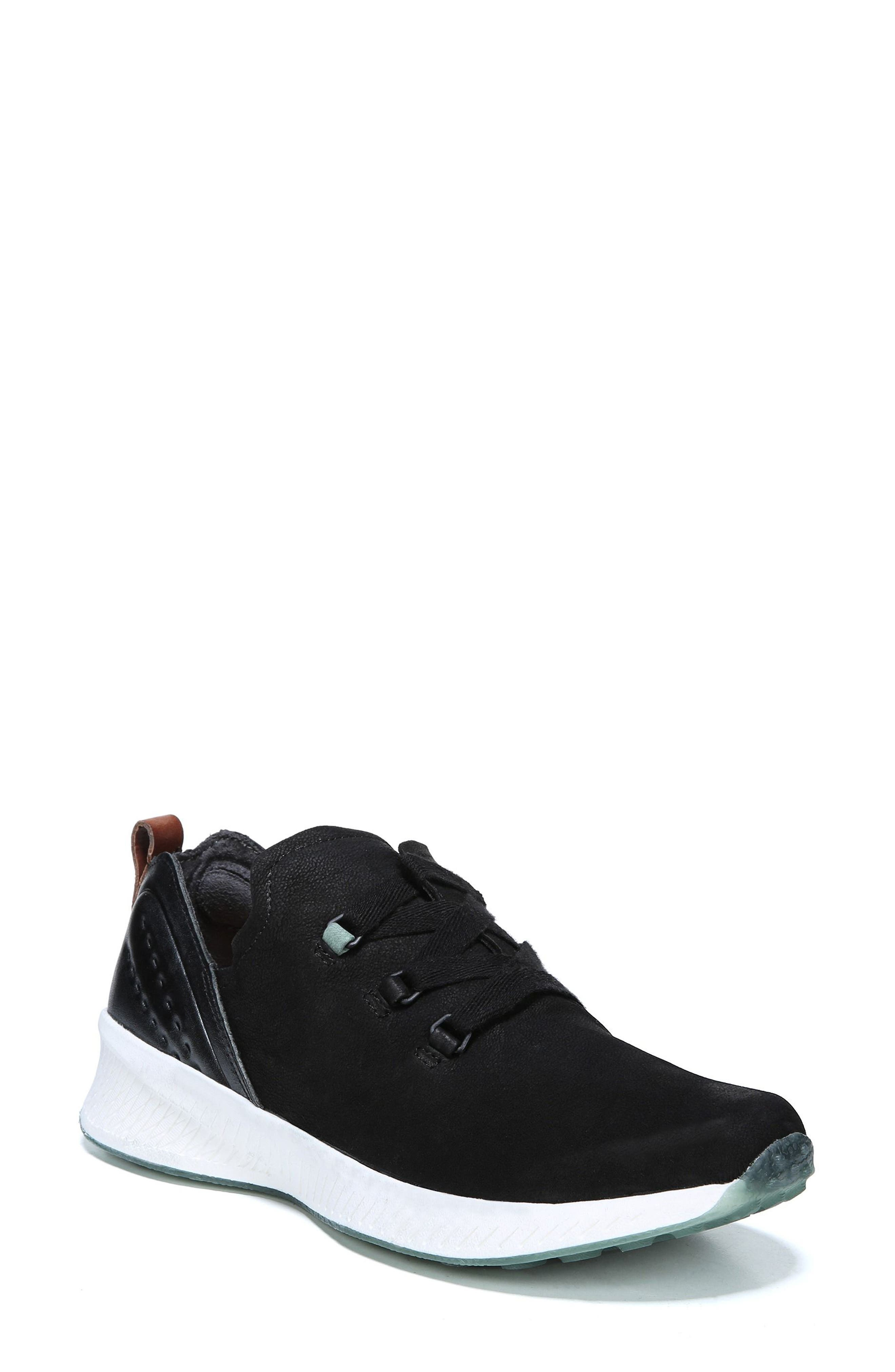 Roma Sneaker,                         Main,                         color, BLACK LEATHER