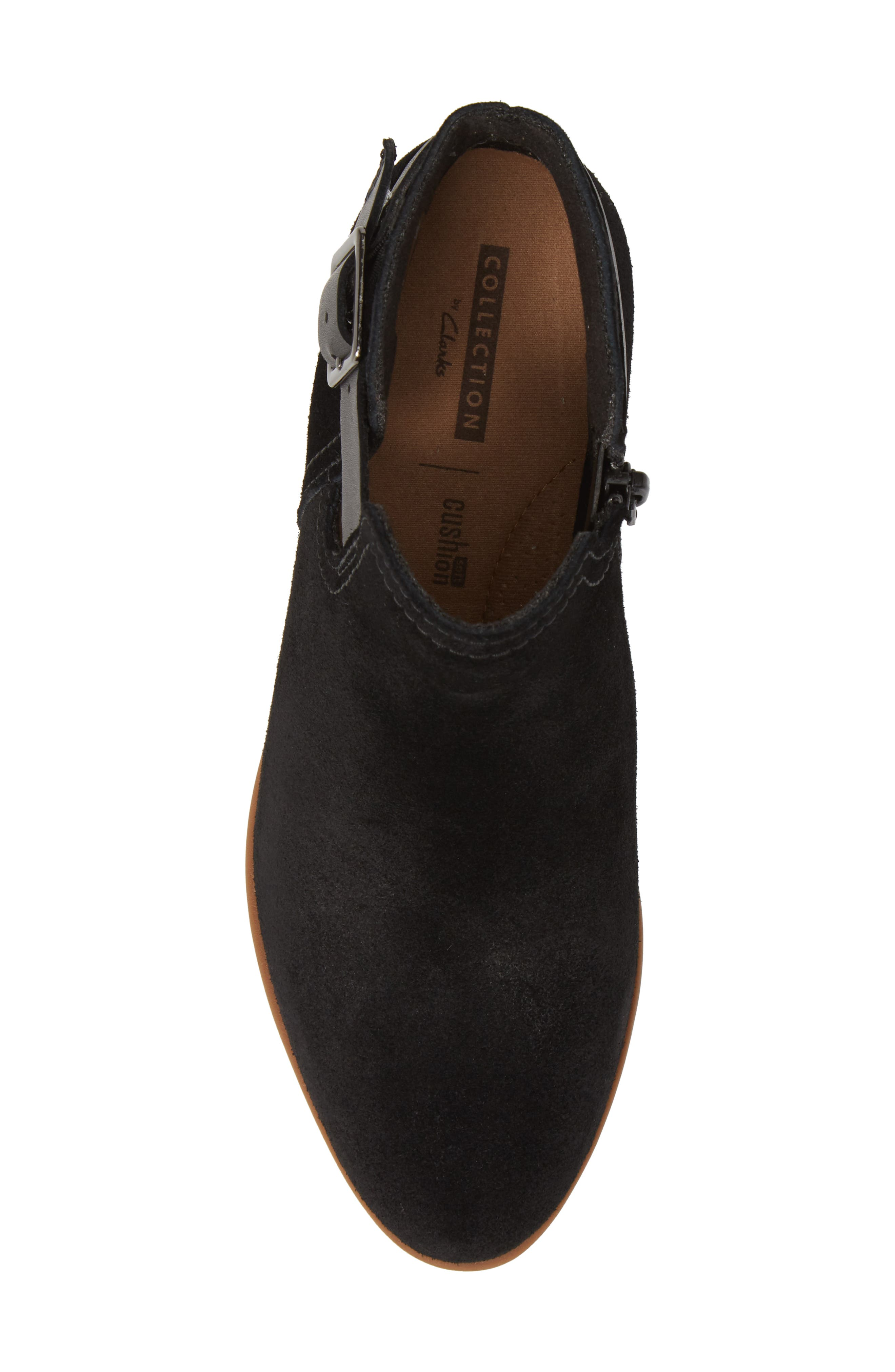 CLARKS<SUP>®</SUP>,                             Clark<sup>®</sup> Addiy Carisa Chelsea Boot,                             Alternate thumbnail 5, color,                             007