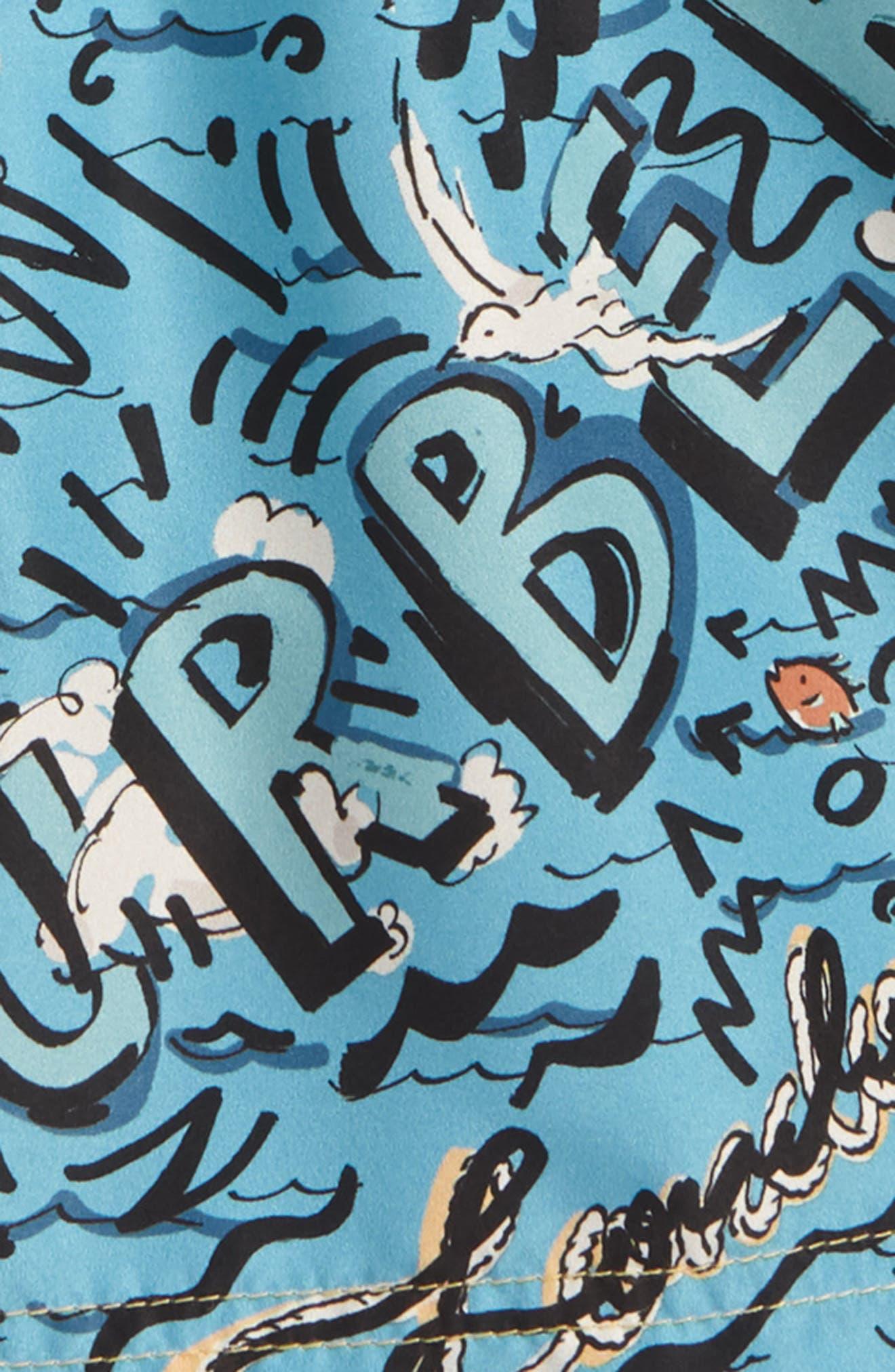 Ben Swim Trunks,                             Alternate thumbnail 2, color,                             262