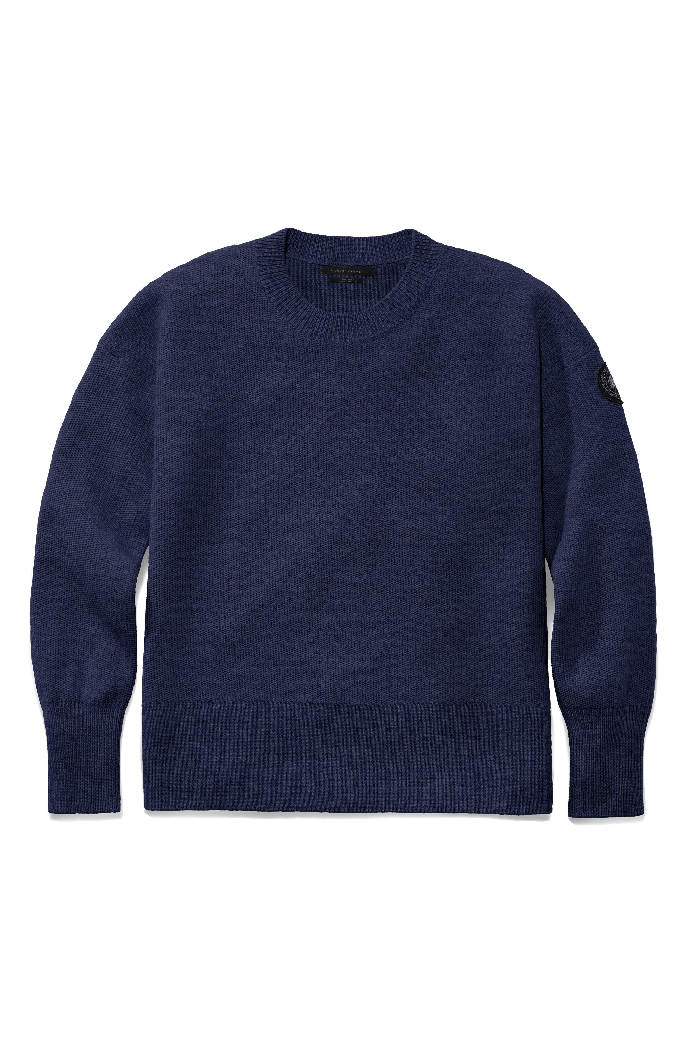 Canada Goose Aleza Merino Wool Sweater, (10-12) - Blue