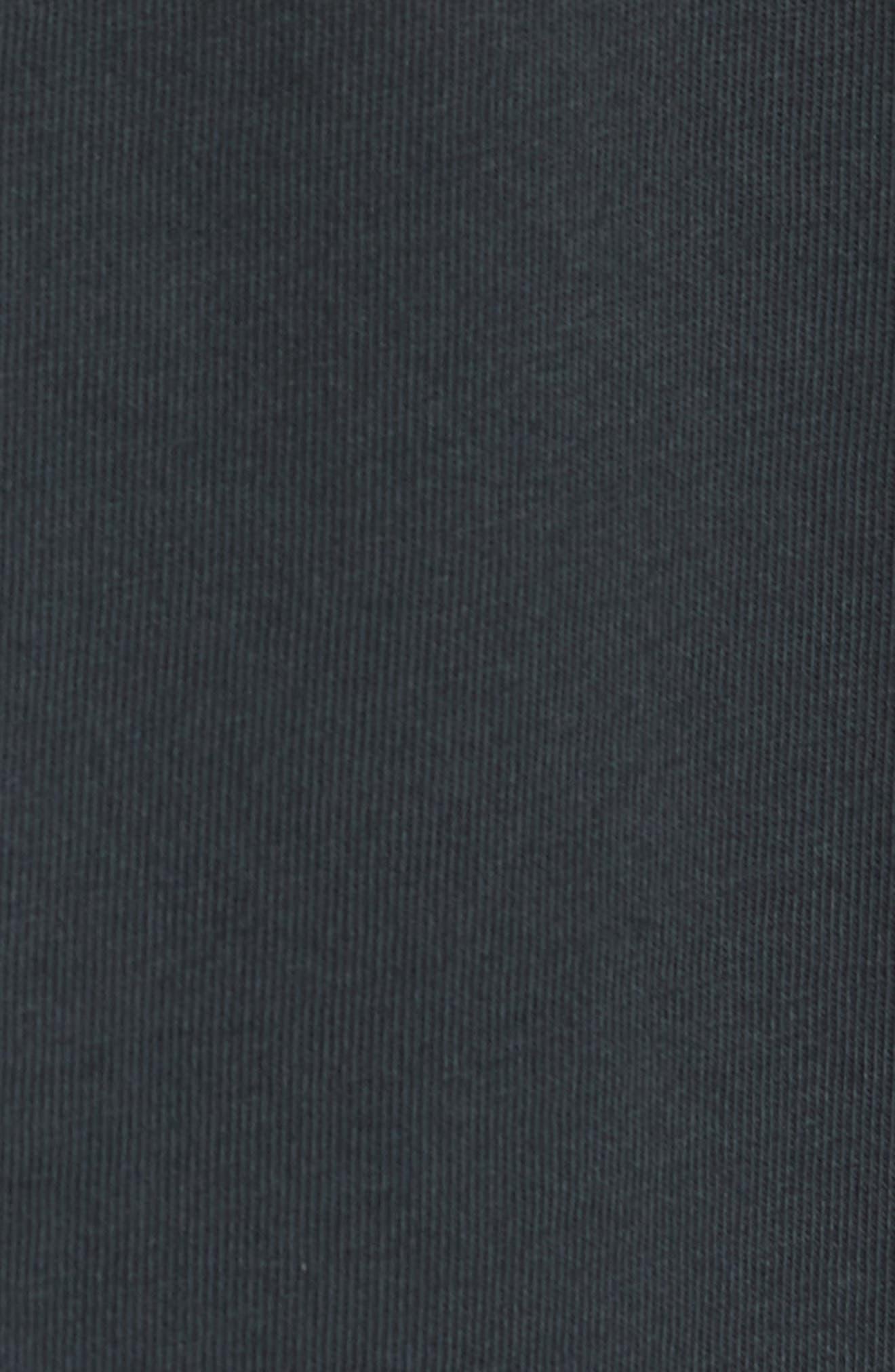 Dylan Desire T-Shirt,                             Alternate thumbnail 5, color,                             DUSTY BLACK