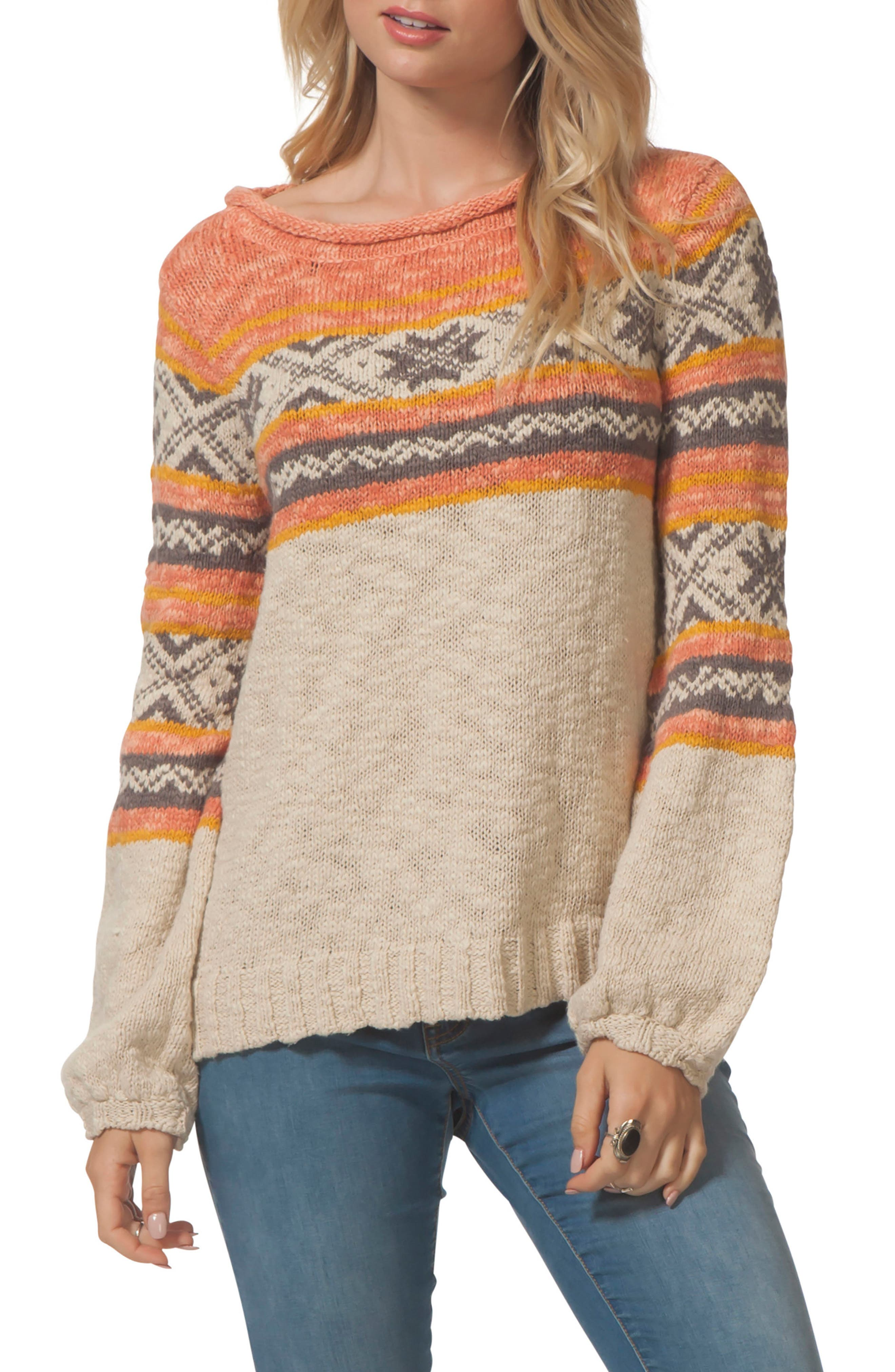 Snowed In Sweater,                         Main,                         color, 901