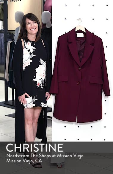 Notch Collar Loro Piana Wool Coat, sales video thumbnail