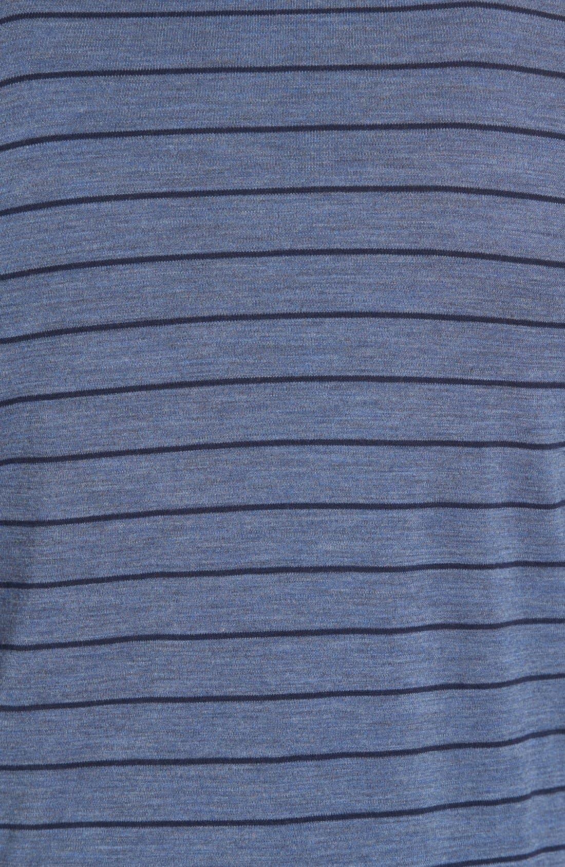 Merino 250 Base Layer Pattern Quarter Zip Pullover,                             Alternate thumbnail 6, color,