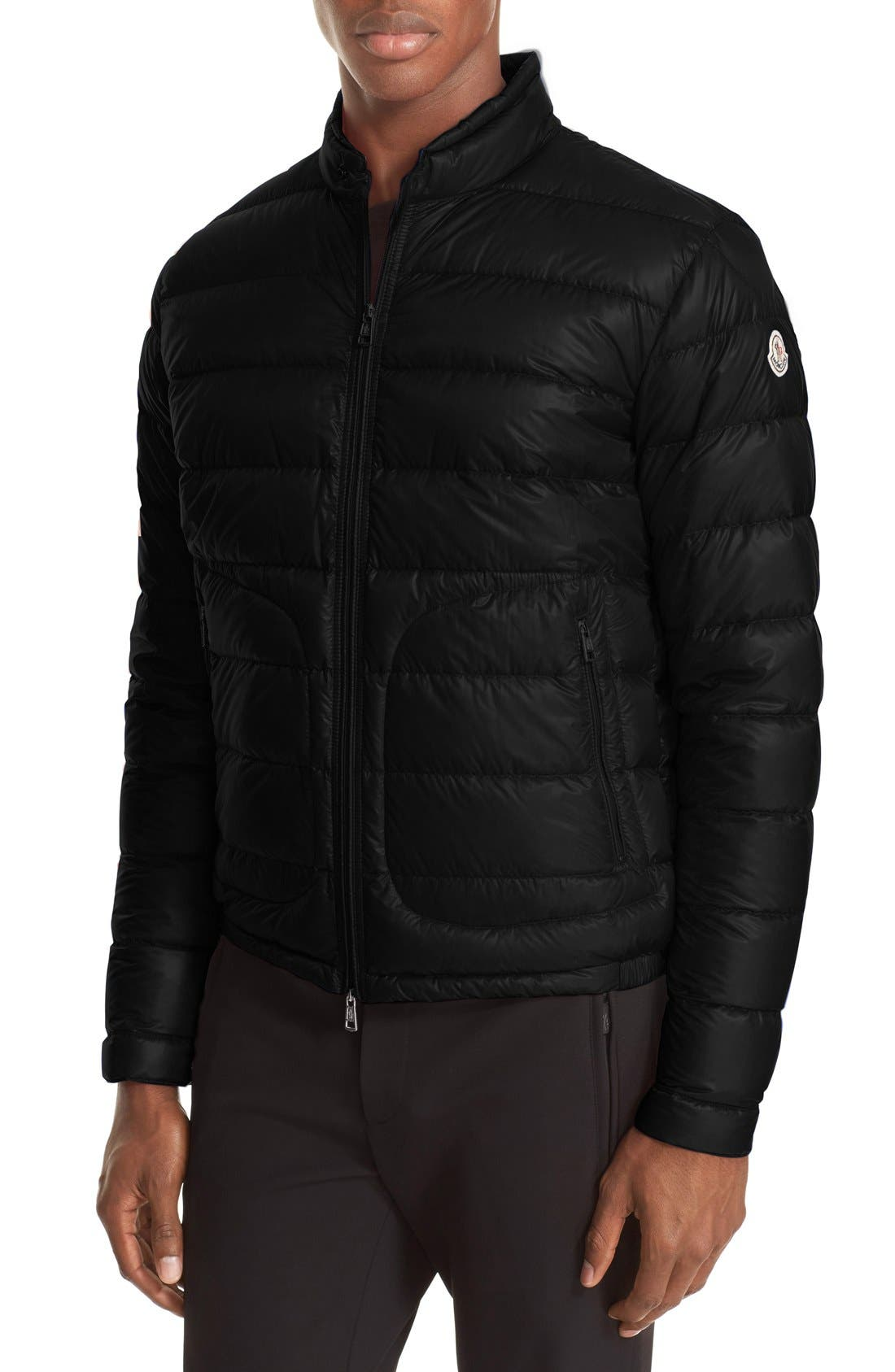 Acorus Down Jacket,                         Main,                         color, BLACK