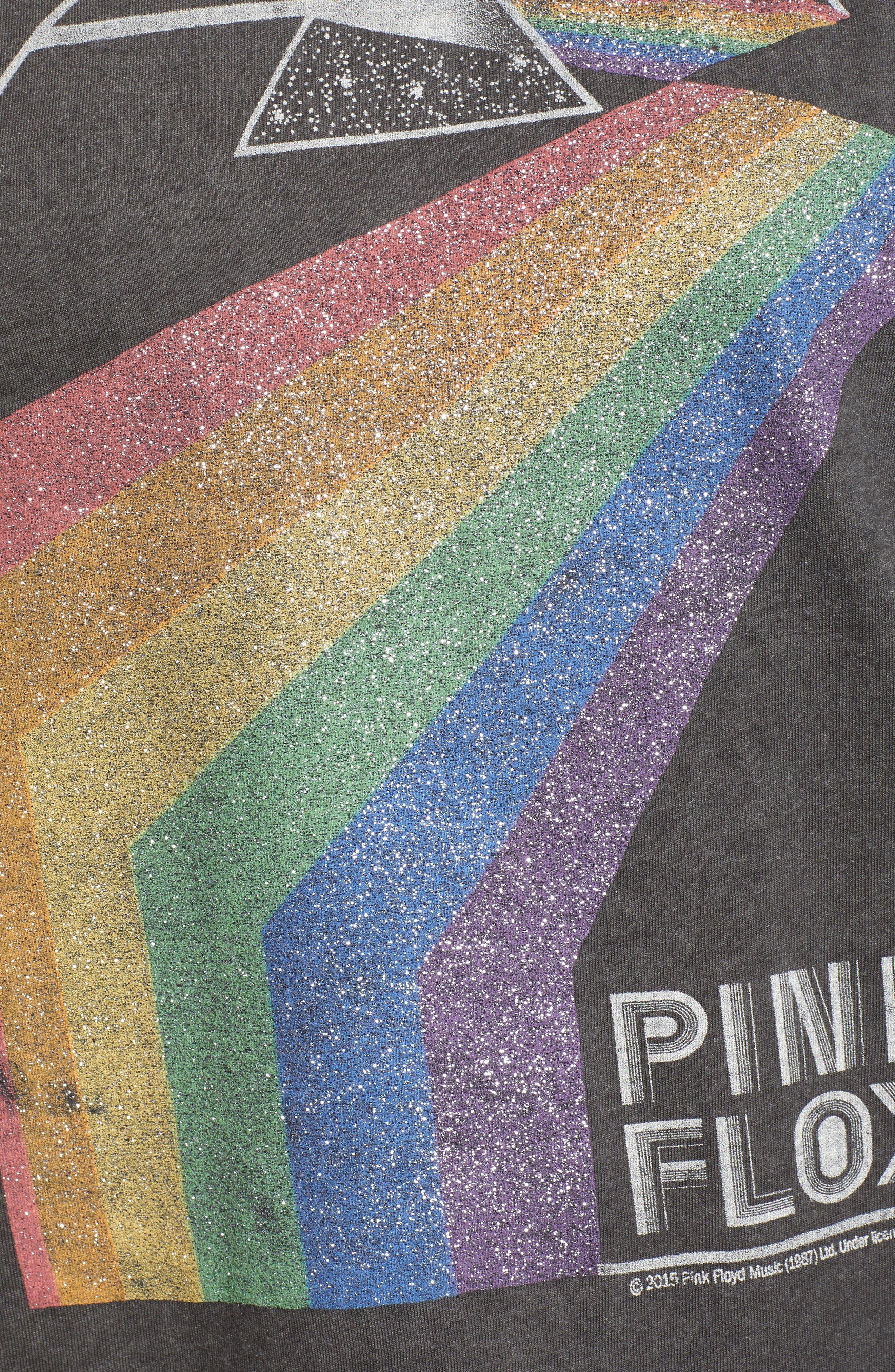 Pink Floyd Metallic Tee,                             Alternate thumbnail 6, color,