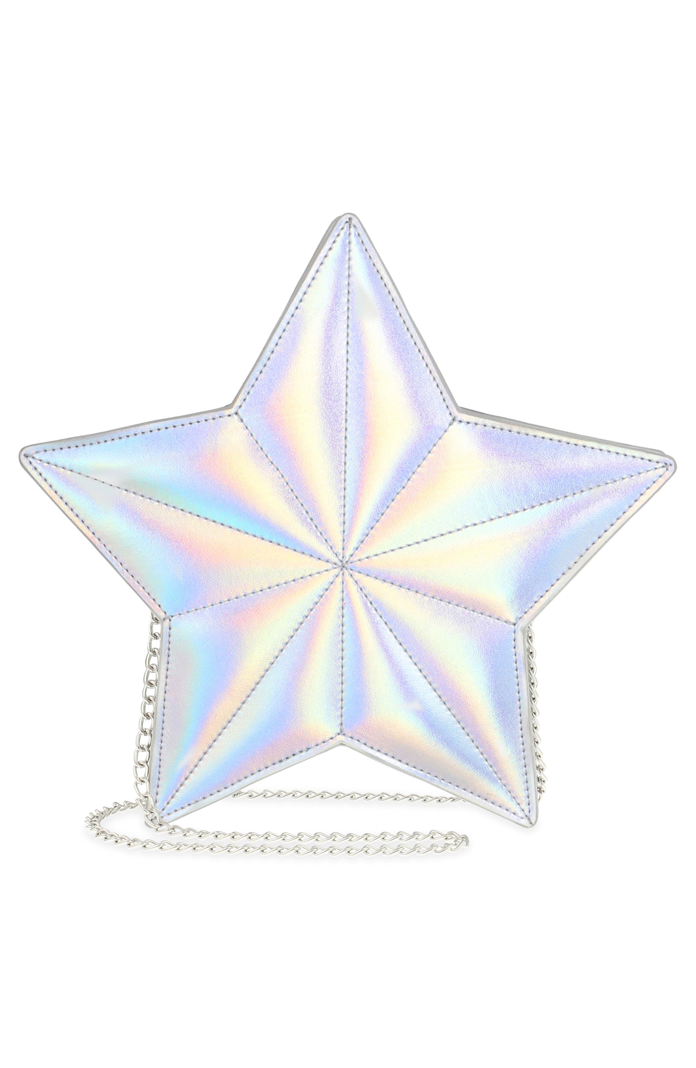 Silver Star Shoulder Bag,                             Alternate thumbnail 4, color,                             040