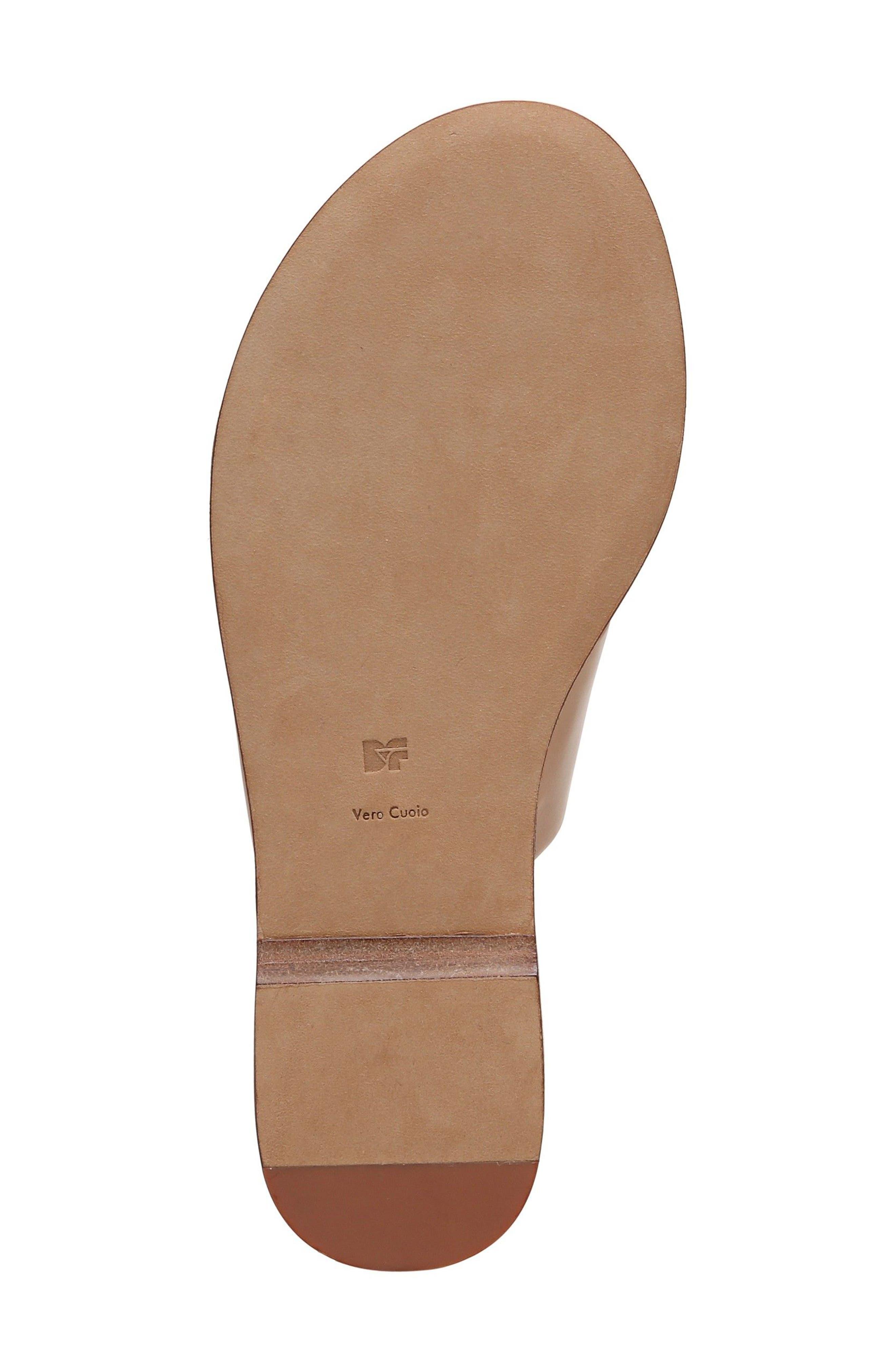 Brittany Asymmetrical Flat Sandal,                             Alternate thumbnail 6, color,                             202