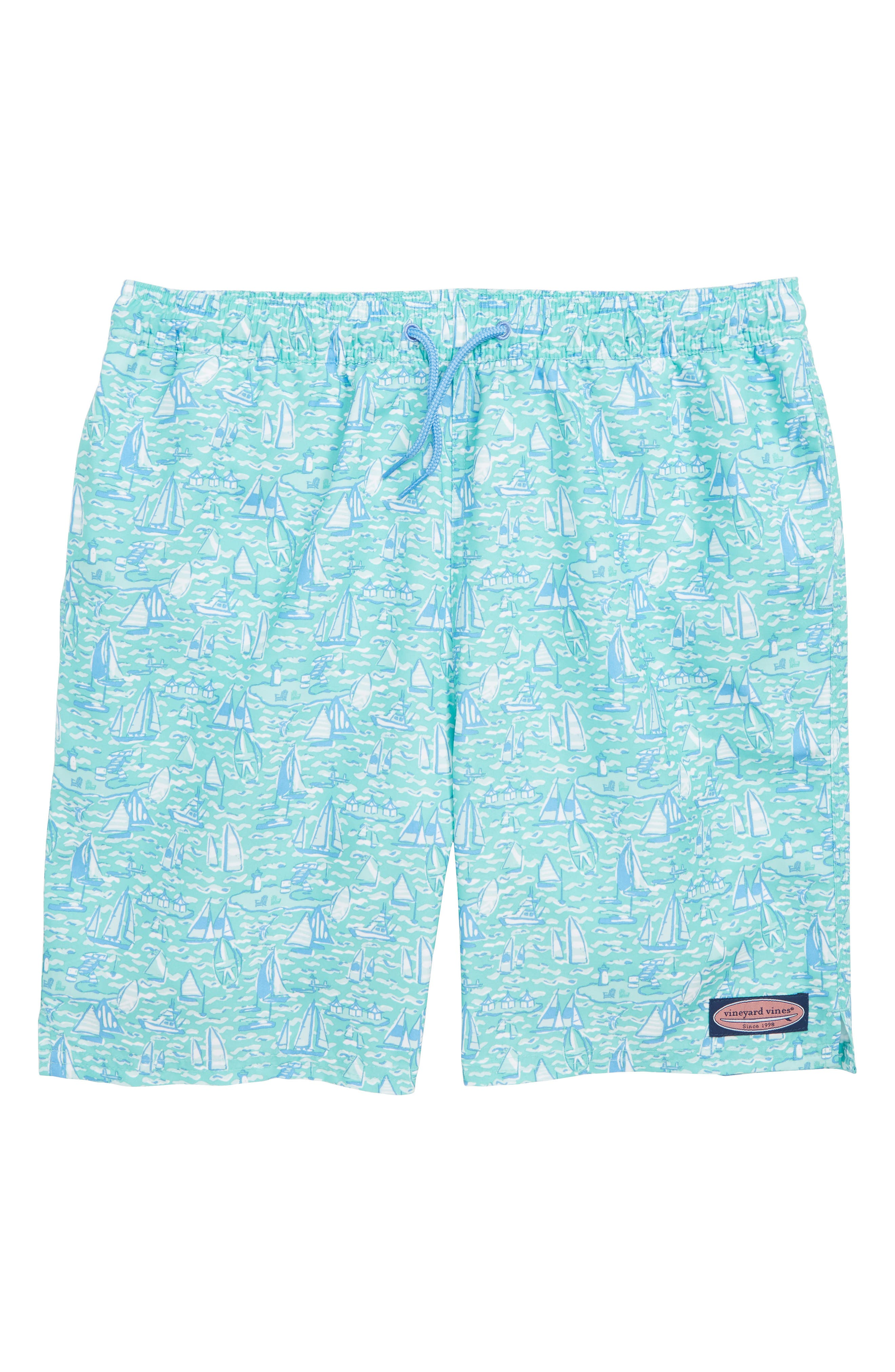 Chappy Sailing the Vineyard Swim Trunks,                             Main thumbnail 1, color,                             400