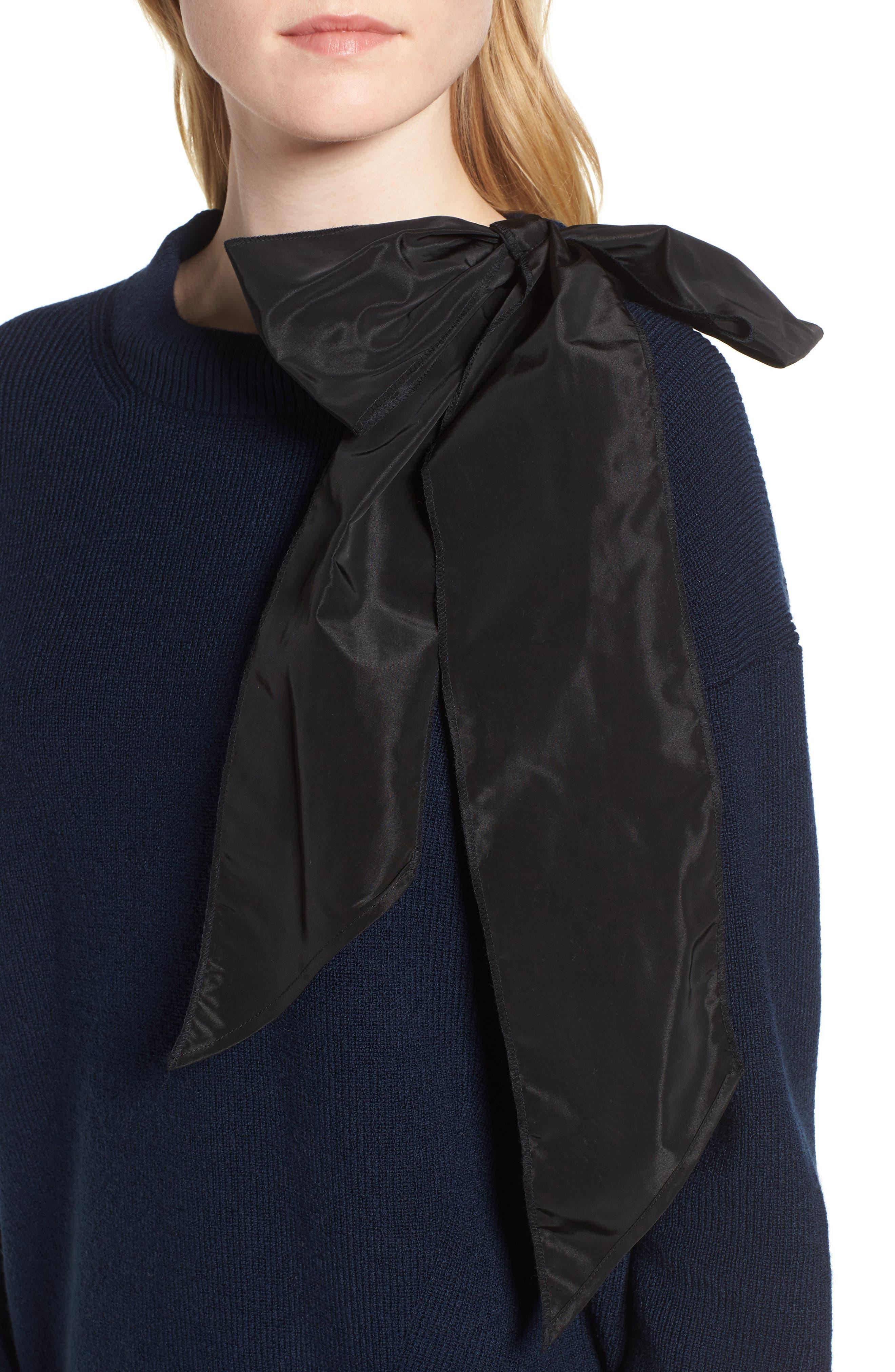 Bow Shoulder Sweater,                             Alternate thumbnail 4, color,                             410