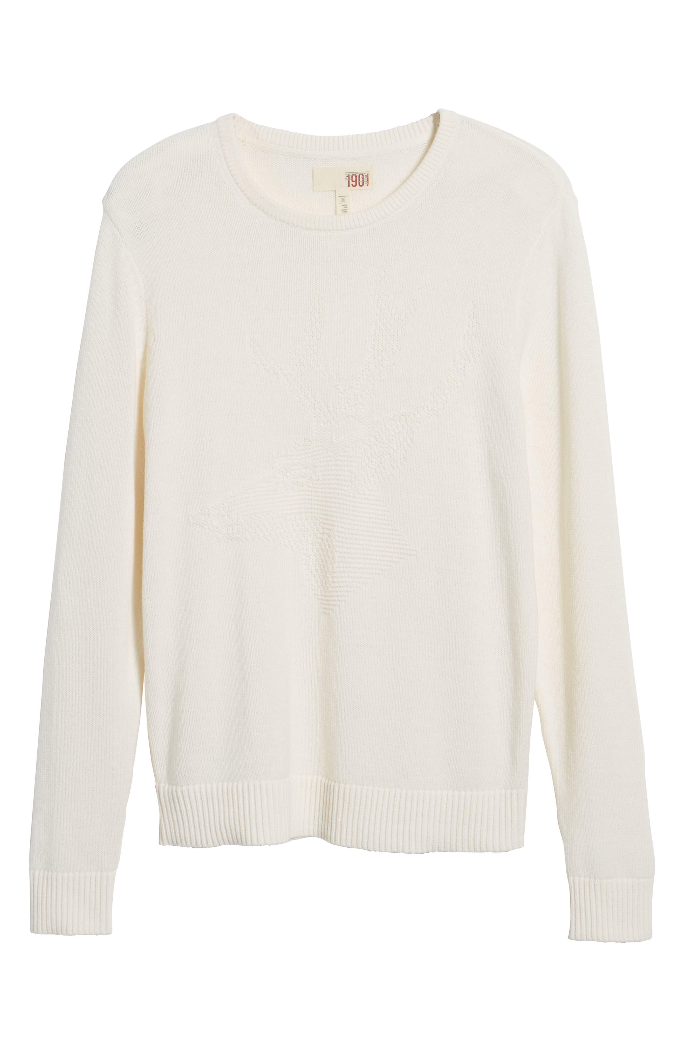 Tonal Motif Sweater,                             Alternate thumbnail 12, color,