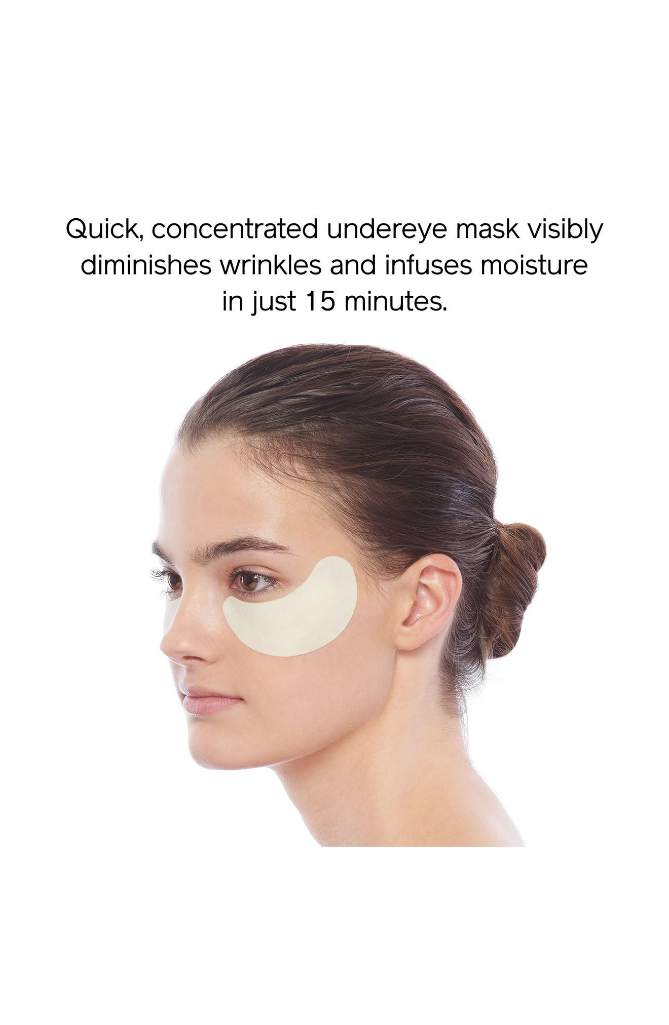 Benefiance WrinkleResist24 Pure Retinol Express Smoothing Eye Mask,                             Alternate thumbnail 3, color,                             NO COLOR