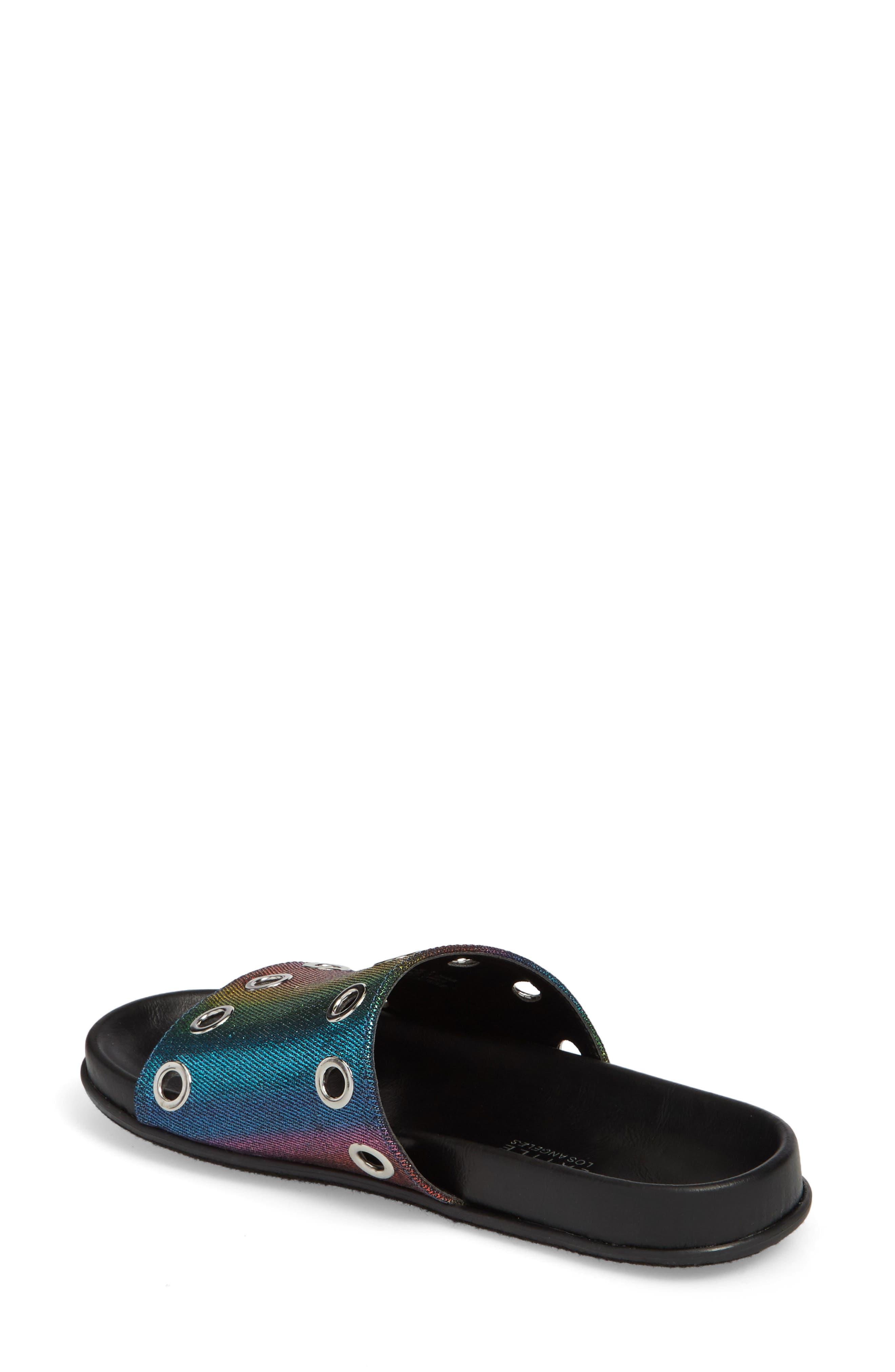Lenny Slide Sandal,                             Alternate thumbnail 4, color,